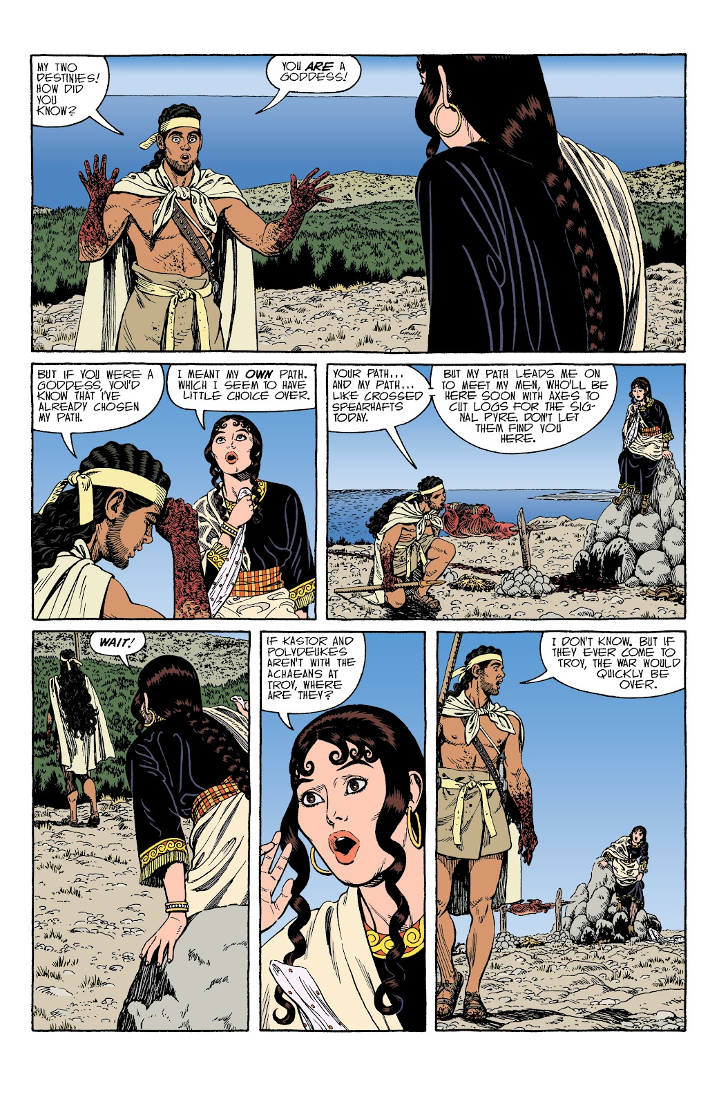 Read online Age of Bronze comic -  Issue #34 - 22
