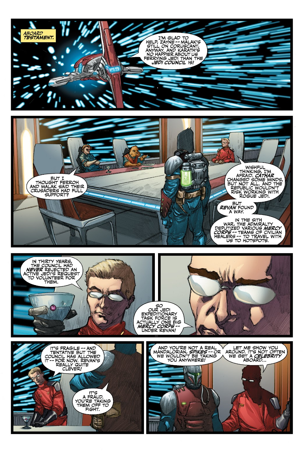 Read online Star Wars Legends: The Old Republic - Epic Collection comic -  Issue # TPB 3 (Part 3) - 69