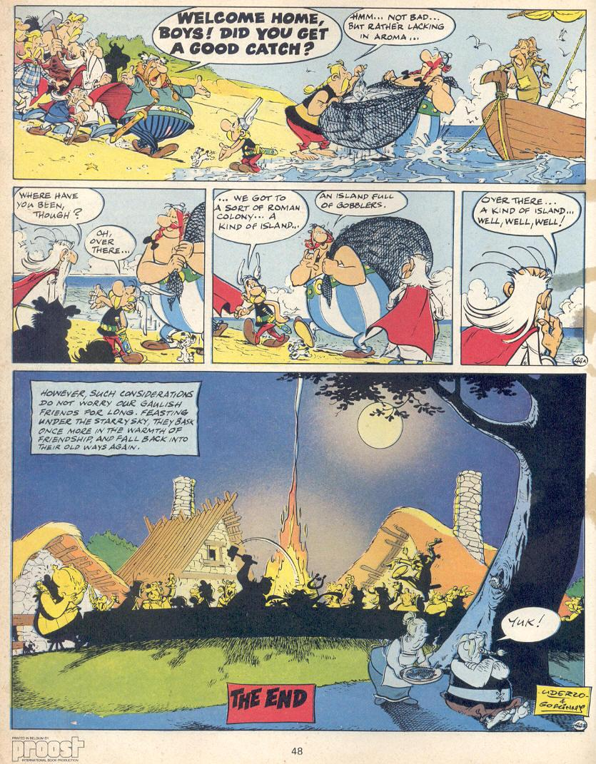 Read online Asterix comic -  Issue #22 - 45