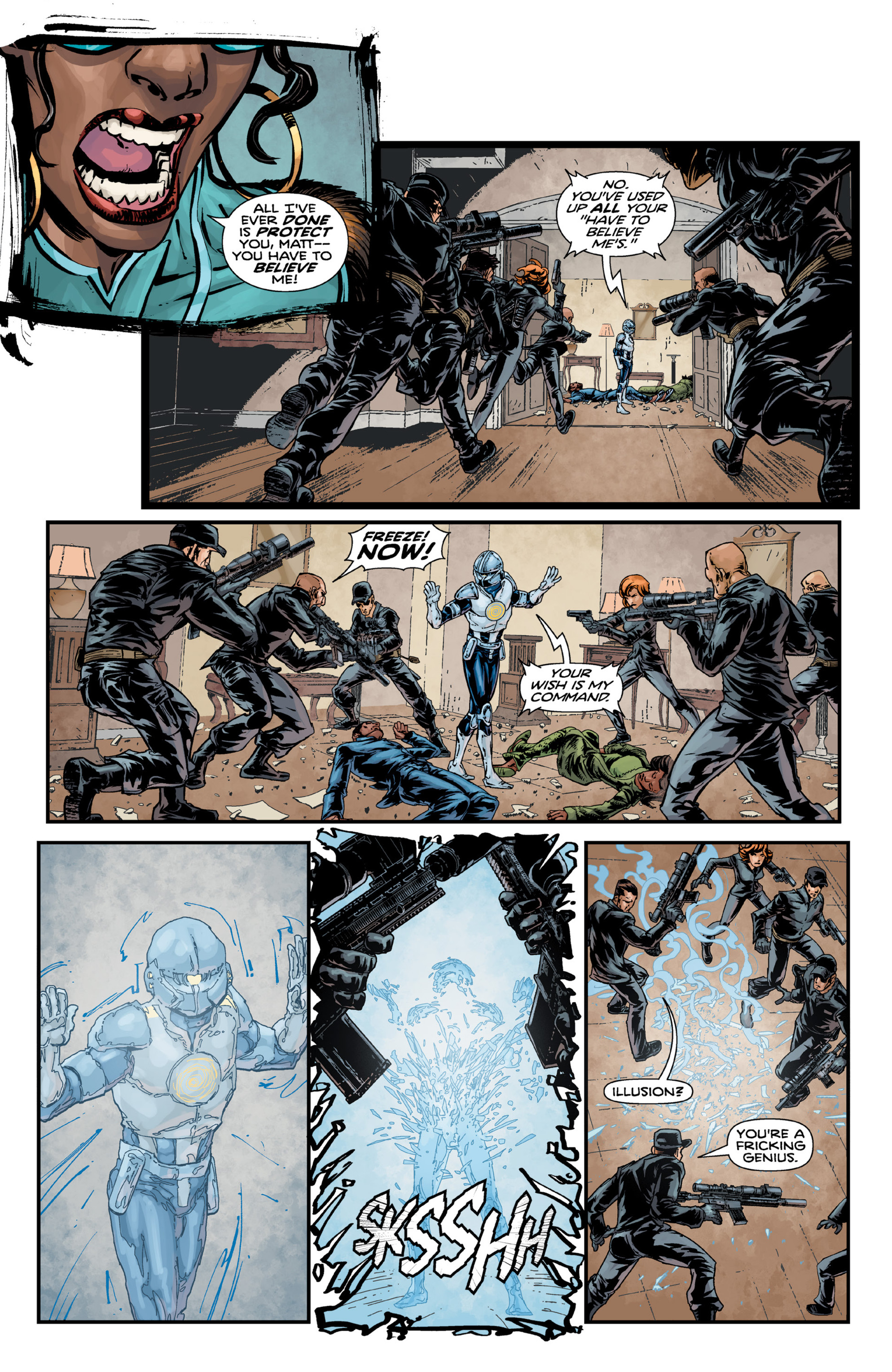 Read online Brain Boy:  The Men from G.E.S.T.A.L.T. comic -  Issue # TPB - 95