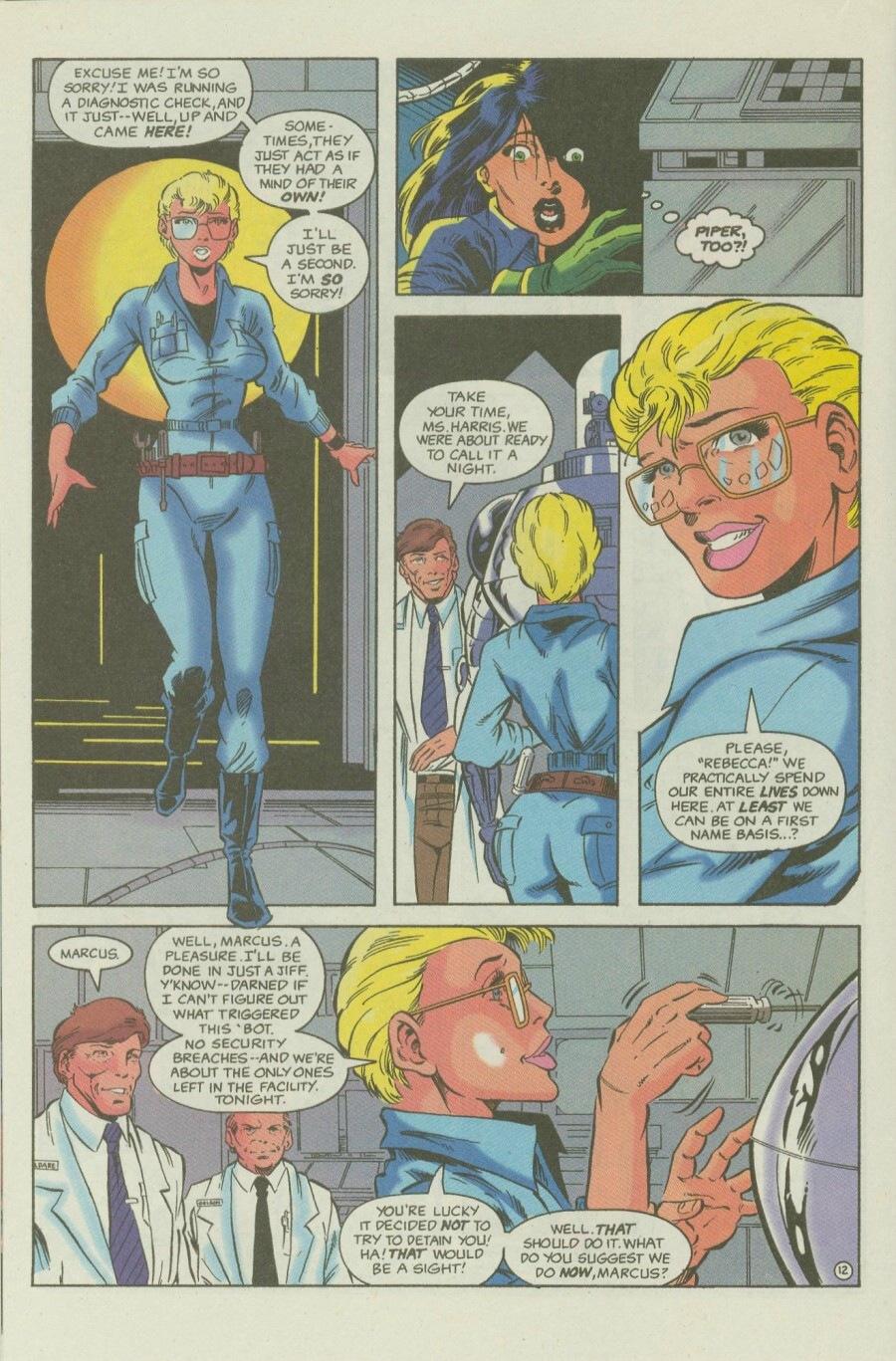 Read online Ex-Mutants comic -  Issue #6 - 16