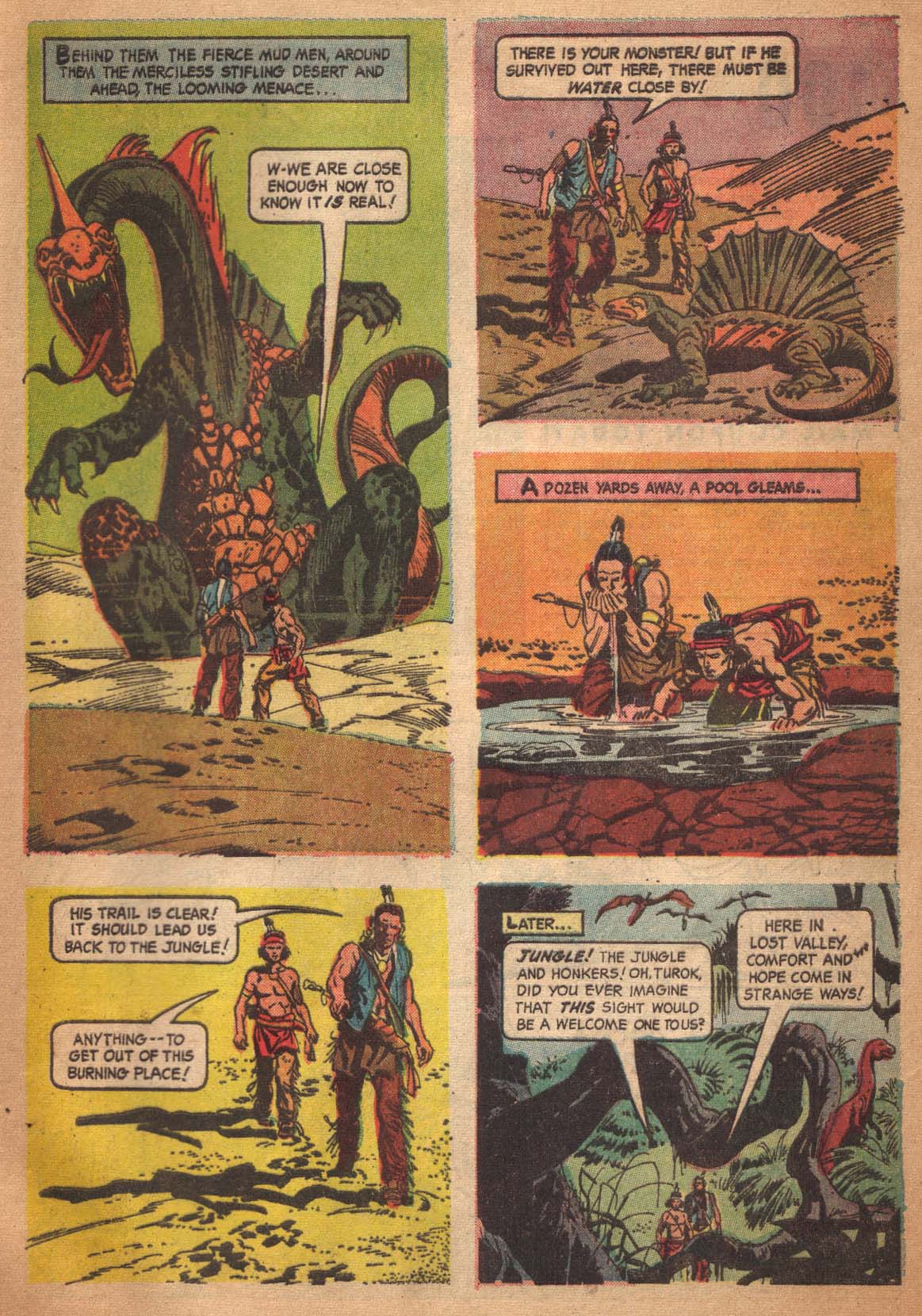 Read online Turok, Son of Stone comic -  Issue #47 - 33