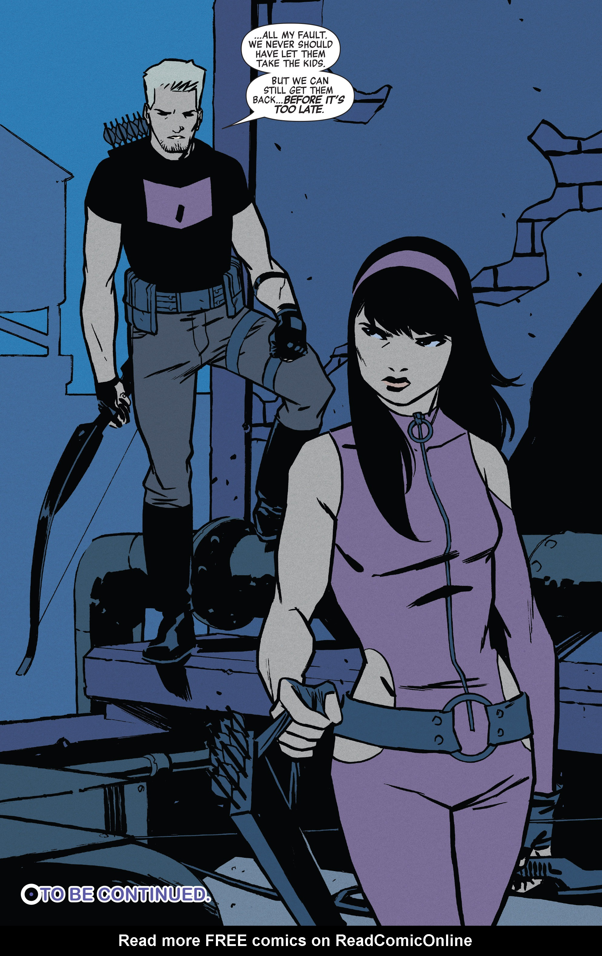Read online All-New Hawkeye (2016) comic -  Issue #3 - 20
