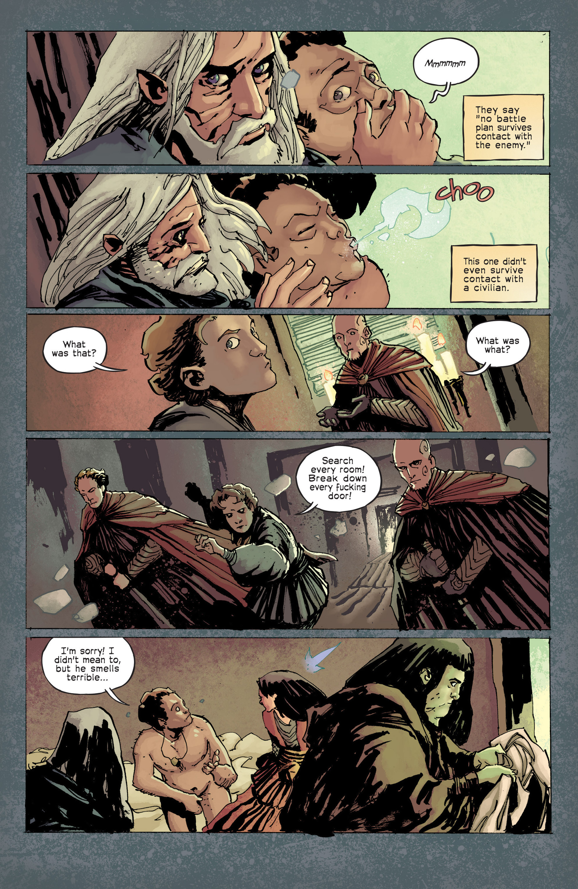 Read online Umbral comic -  Issue #6 - 3