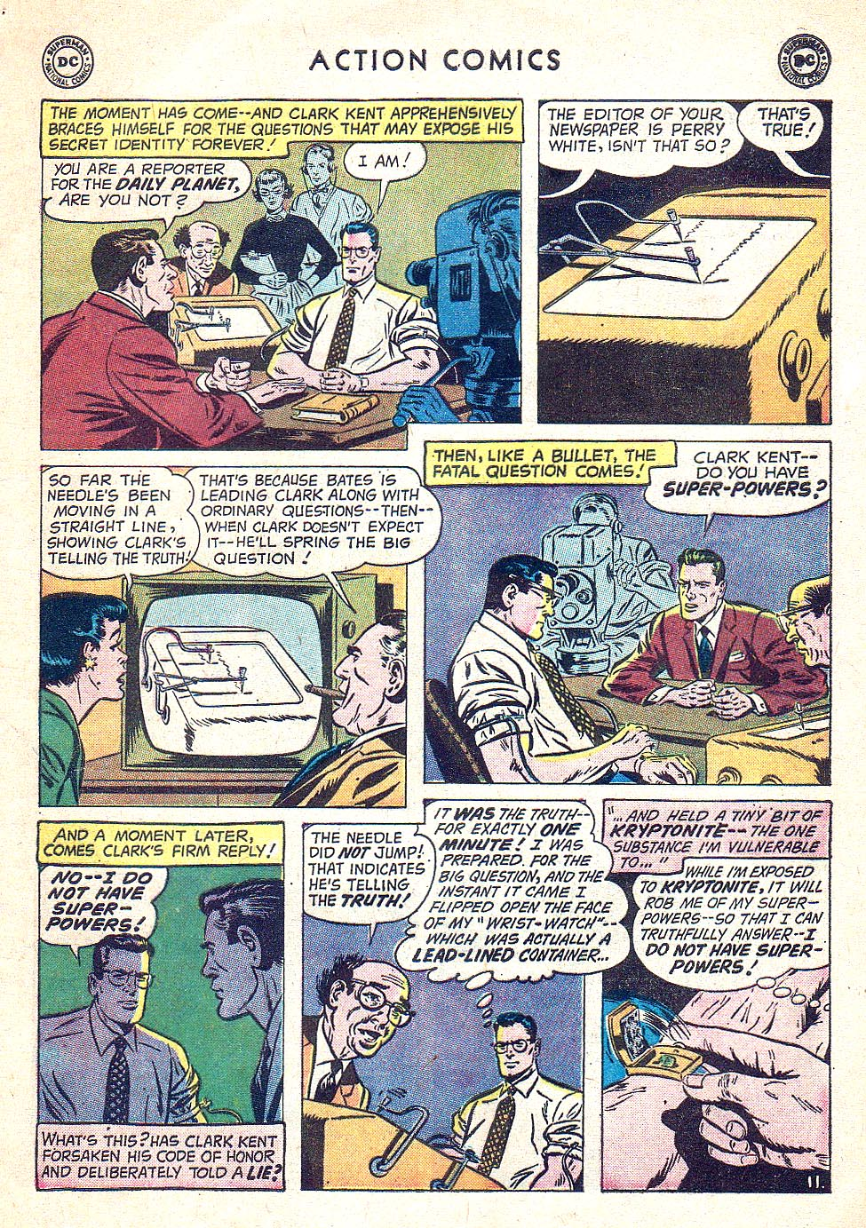 Read online Action Comics (1938) comic -  Issue #250 - 13