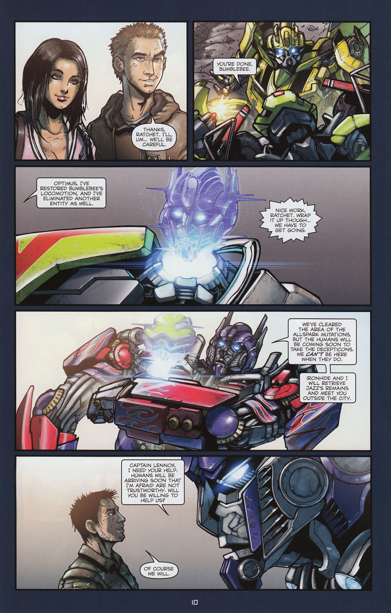 Read online Transformers: Alliance comic -  Issue #1 - 13