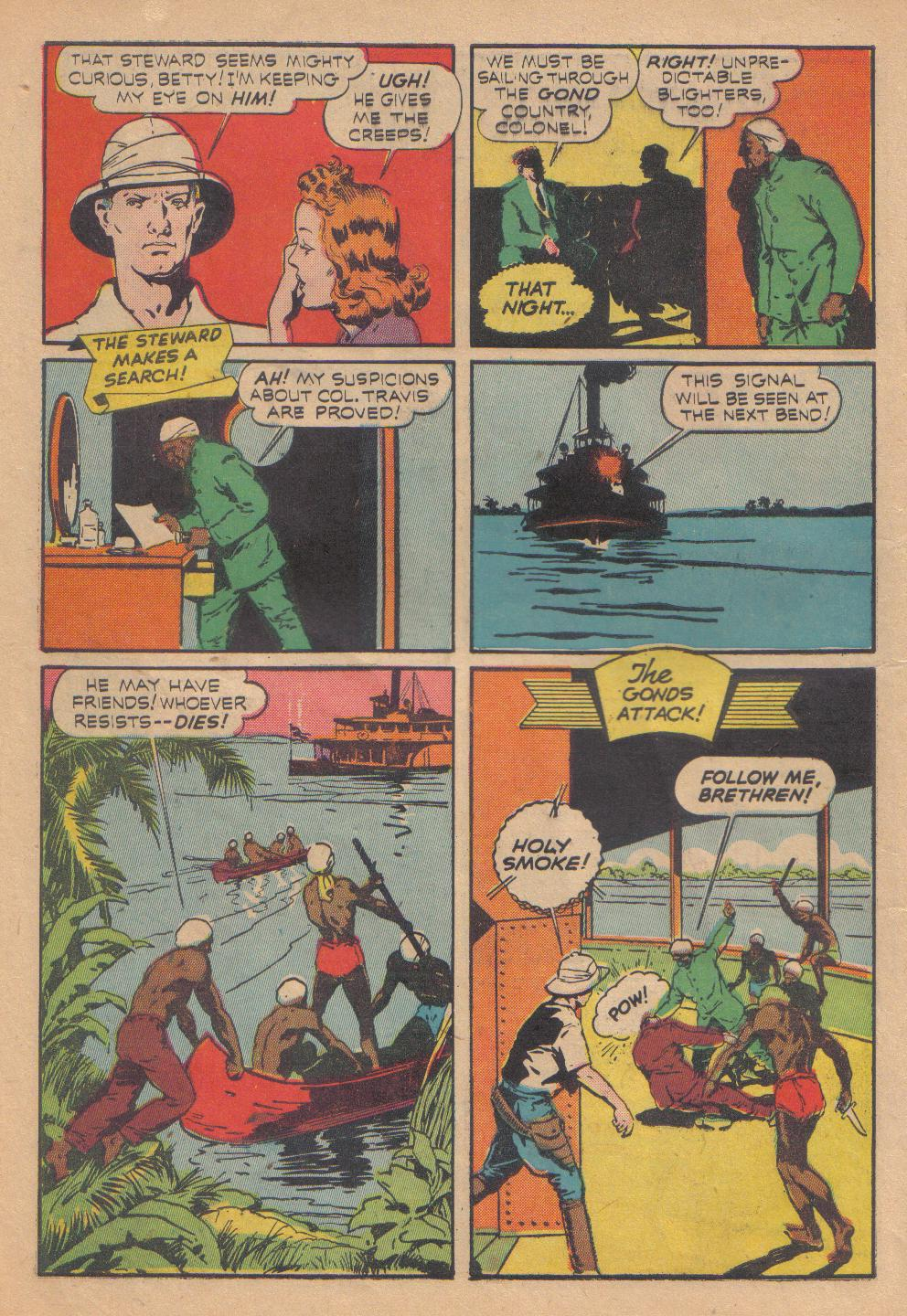 Exciting Comics (1940) issue 13 - Page 18