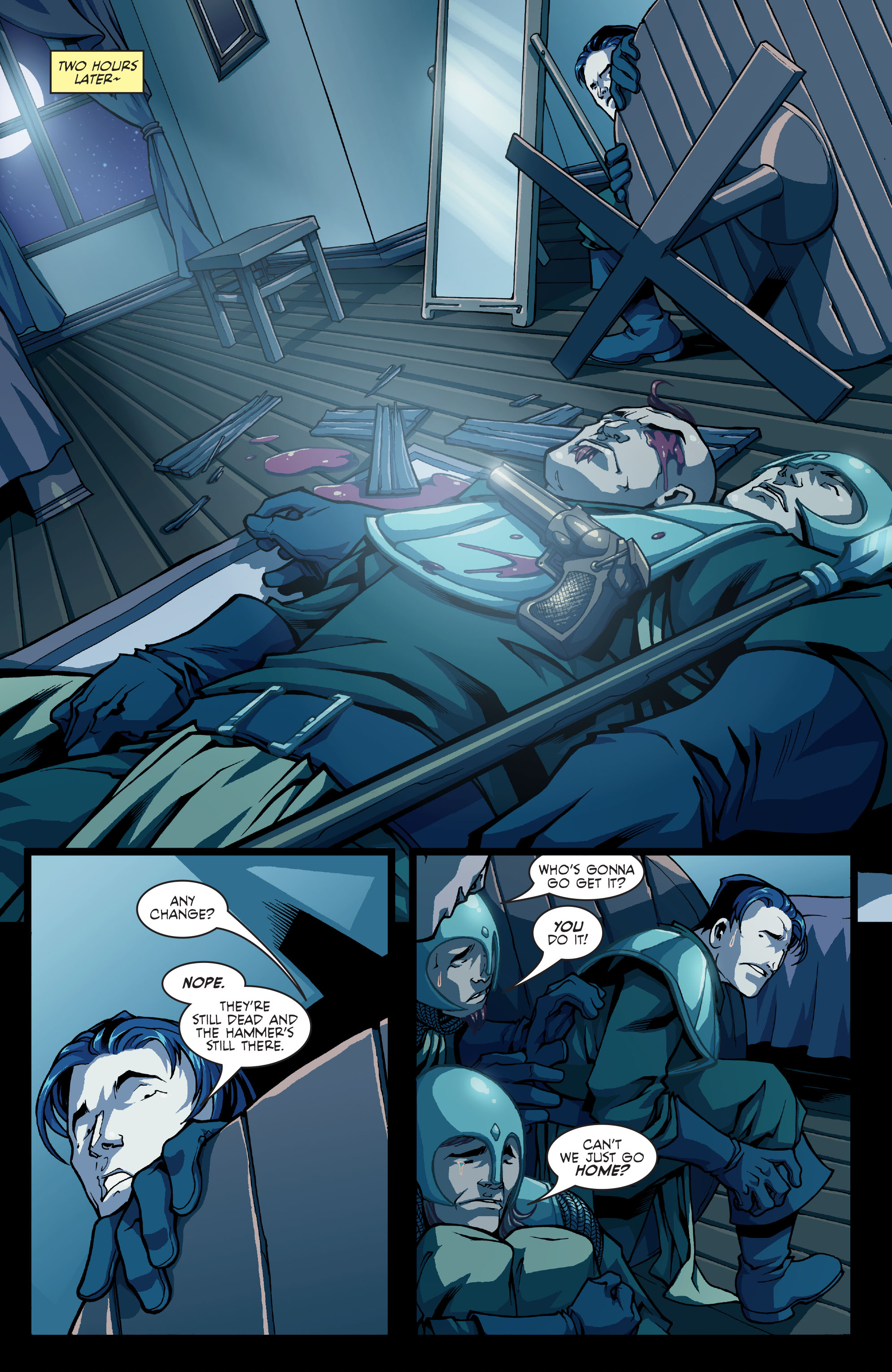 Read online Skullkickers comic -  Issue #8 - 12
