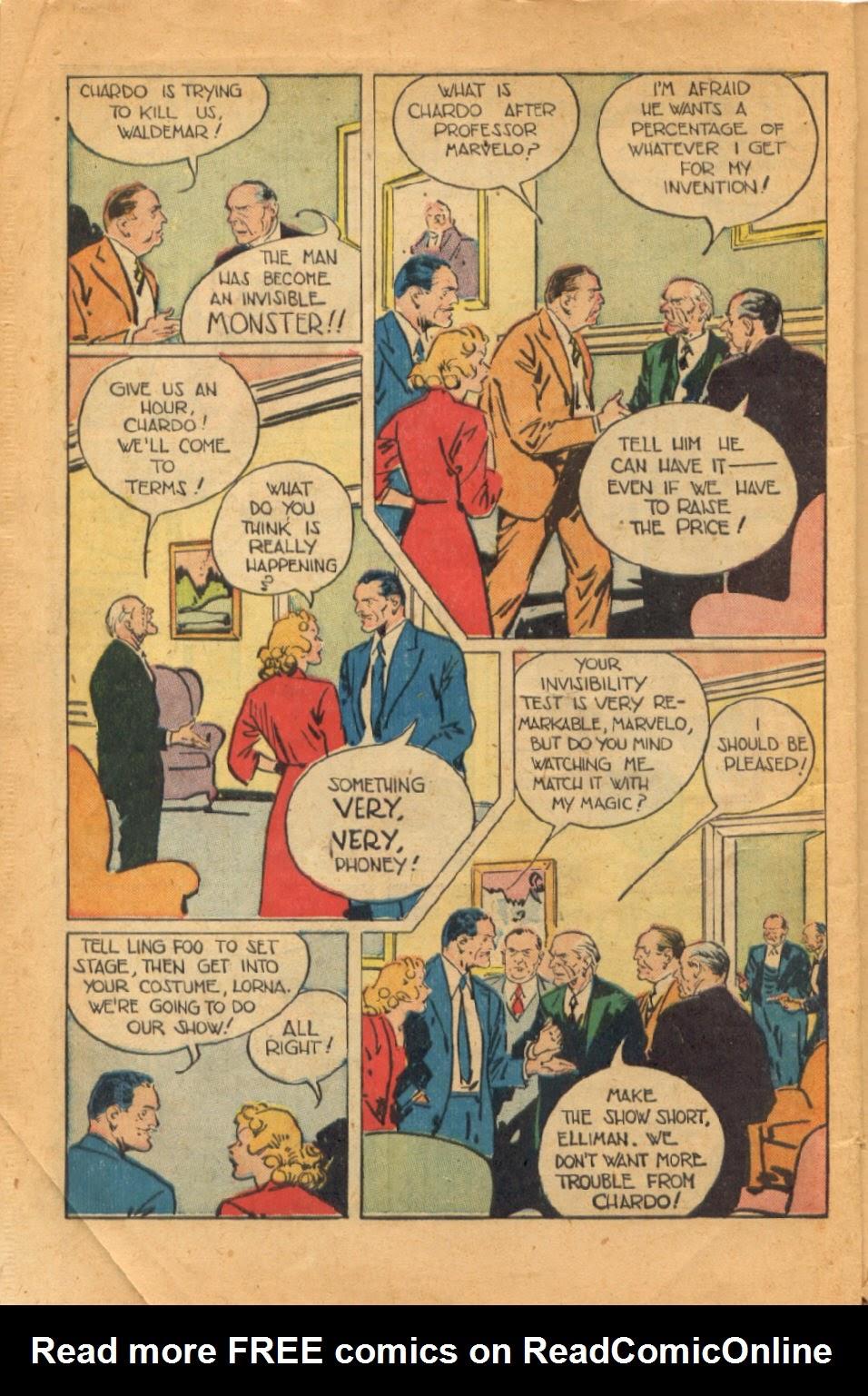 Read online Super-Magician Comics comic -  Issue #52 - 11