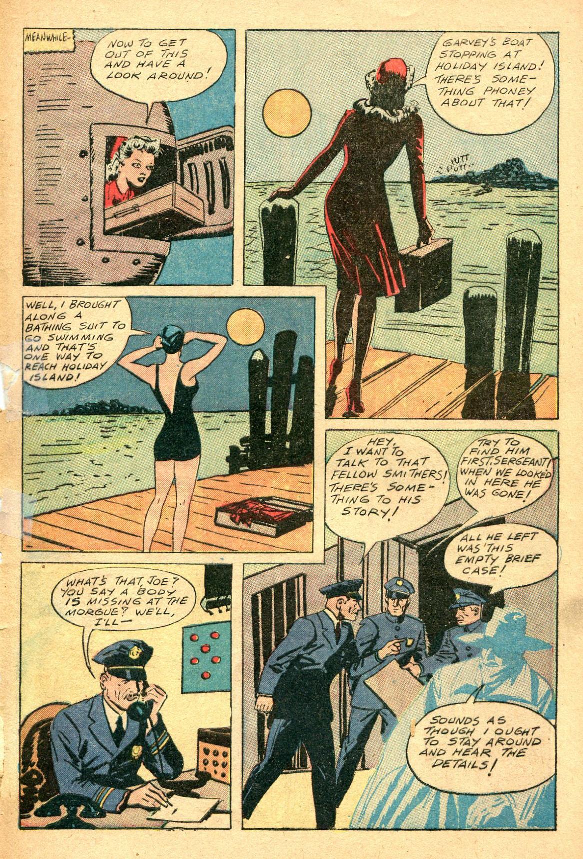 Read online Shadow Comics comic -  Issue #47 - 46