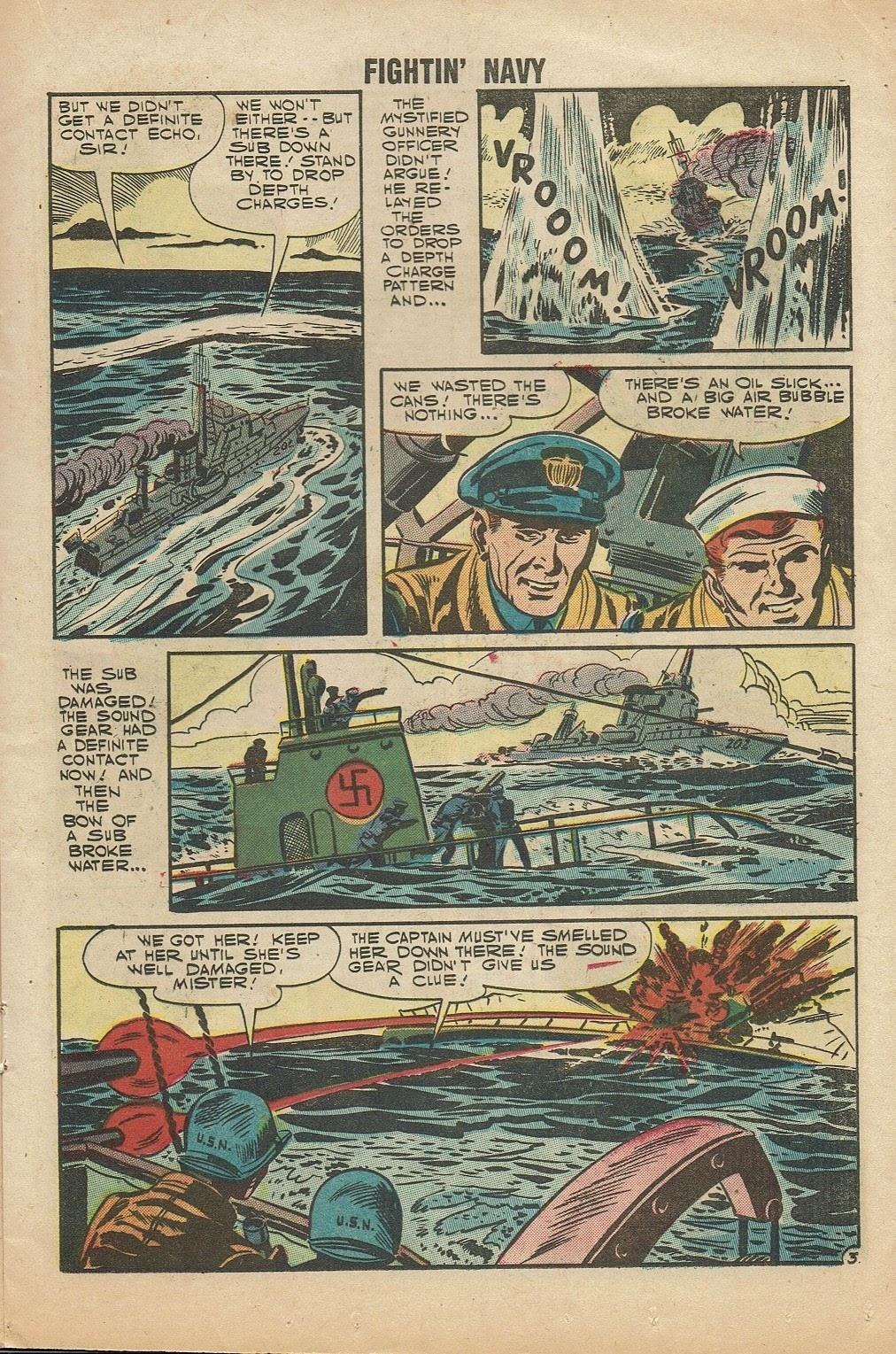 Read online Fightin' Navy comic -  Issue #81 - 17