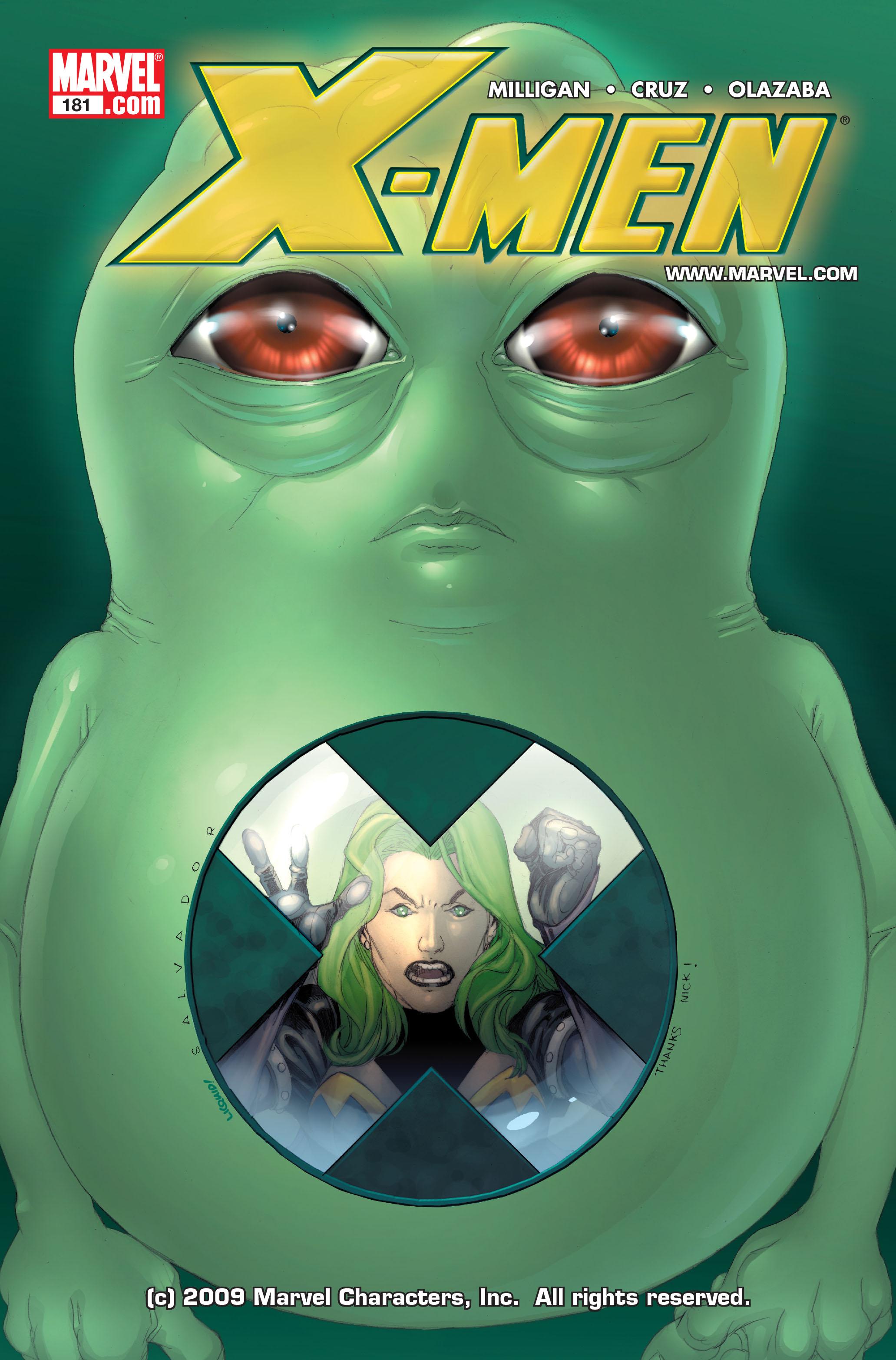 X-Men (1991) 181 Page 0