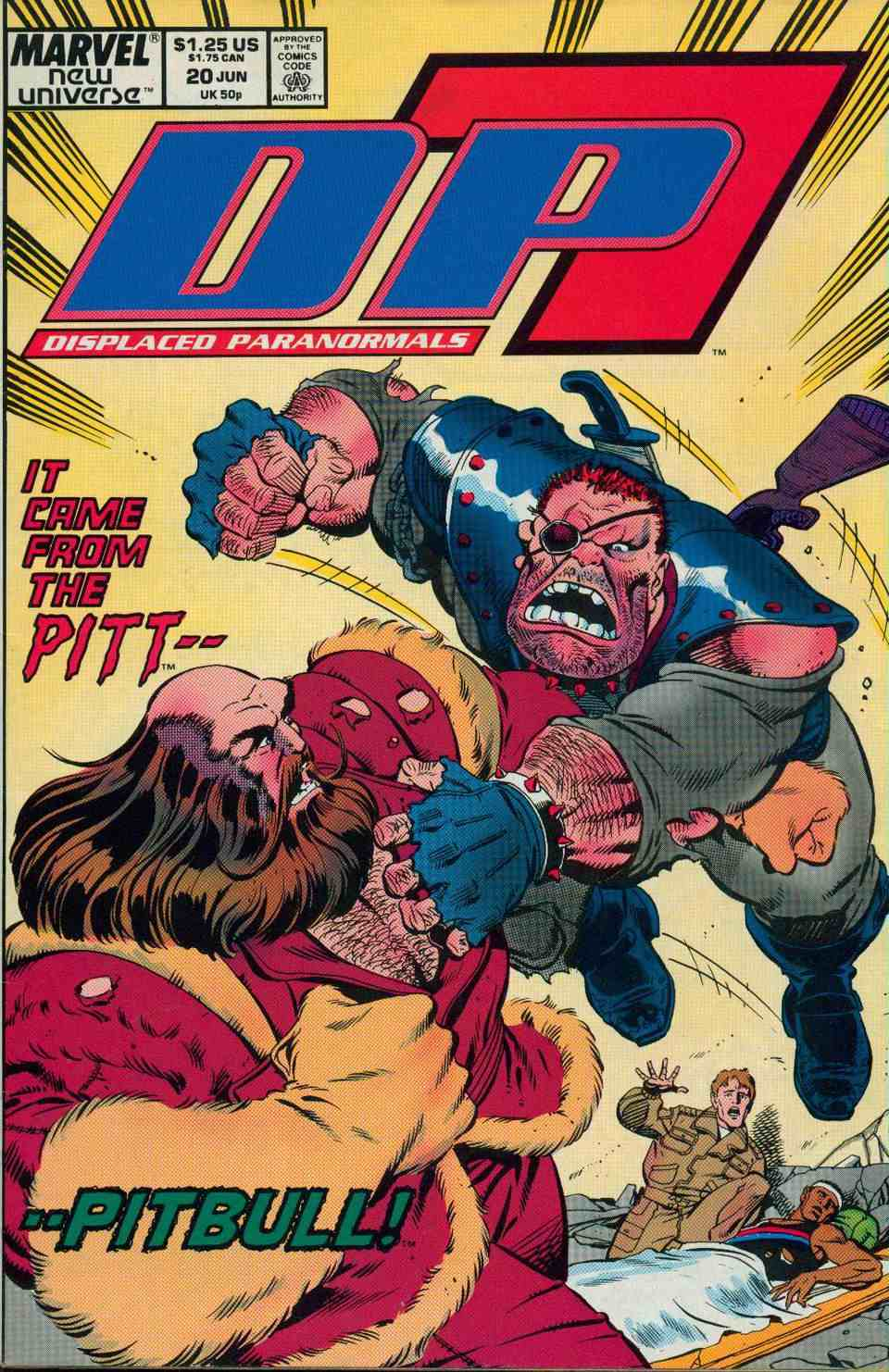 Read online DP7 comic -  Issue #20 - 1