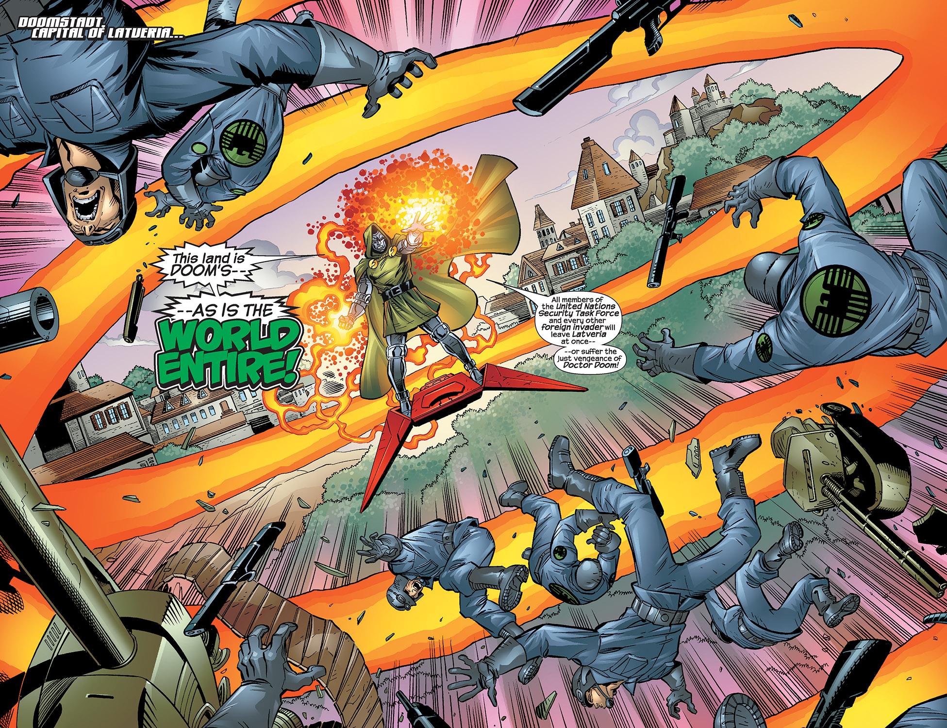Read online Fantastic Five (2007) comic -  Issue #4 - 3