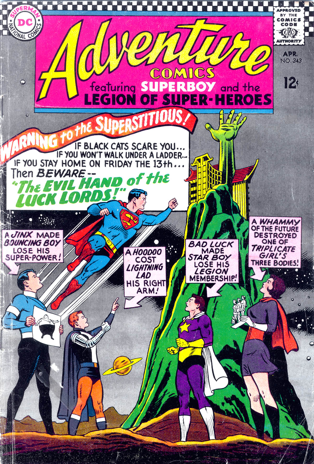 Read online Adventure Comics (1938) comic -  Issue #343 - 1
