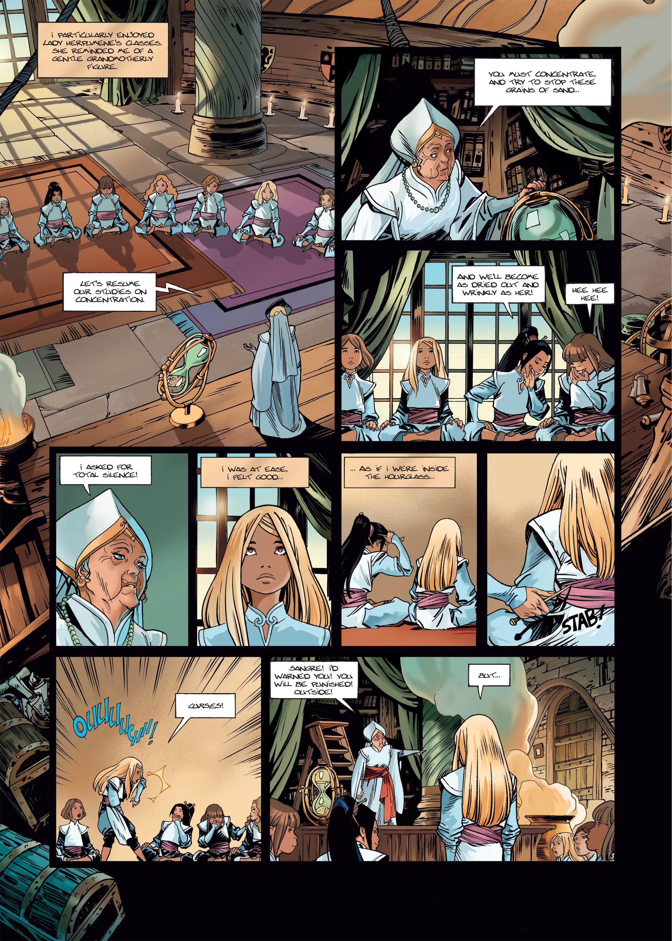 Read online Sangre Vol. 1: Sangre the Survivor comic -  Issue # Full - 24