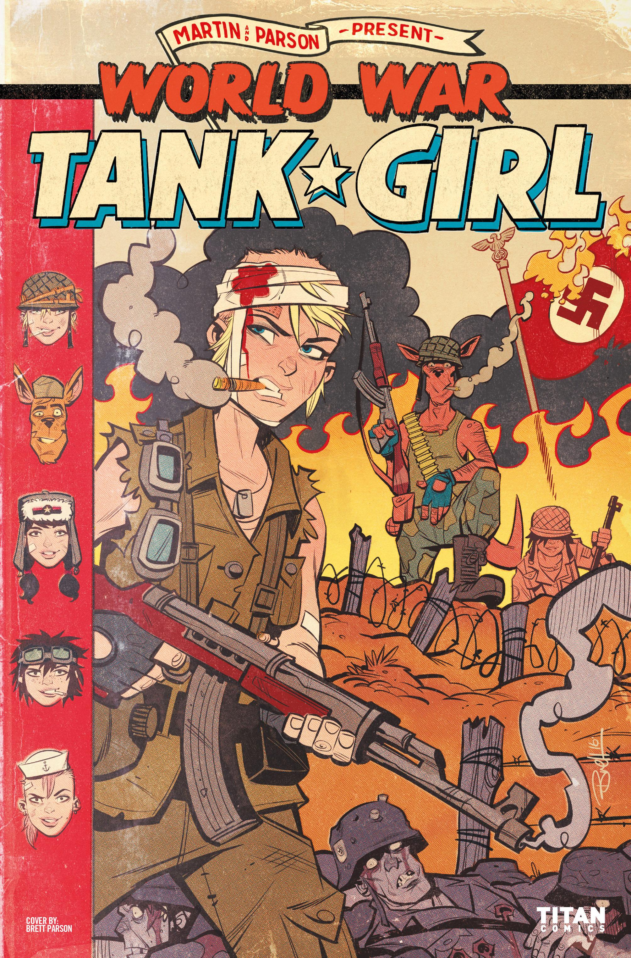 Read online Tank Girl: World War Tank Girl comic -  Issue #2 - 1