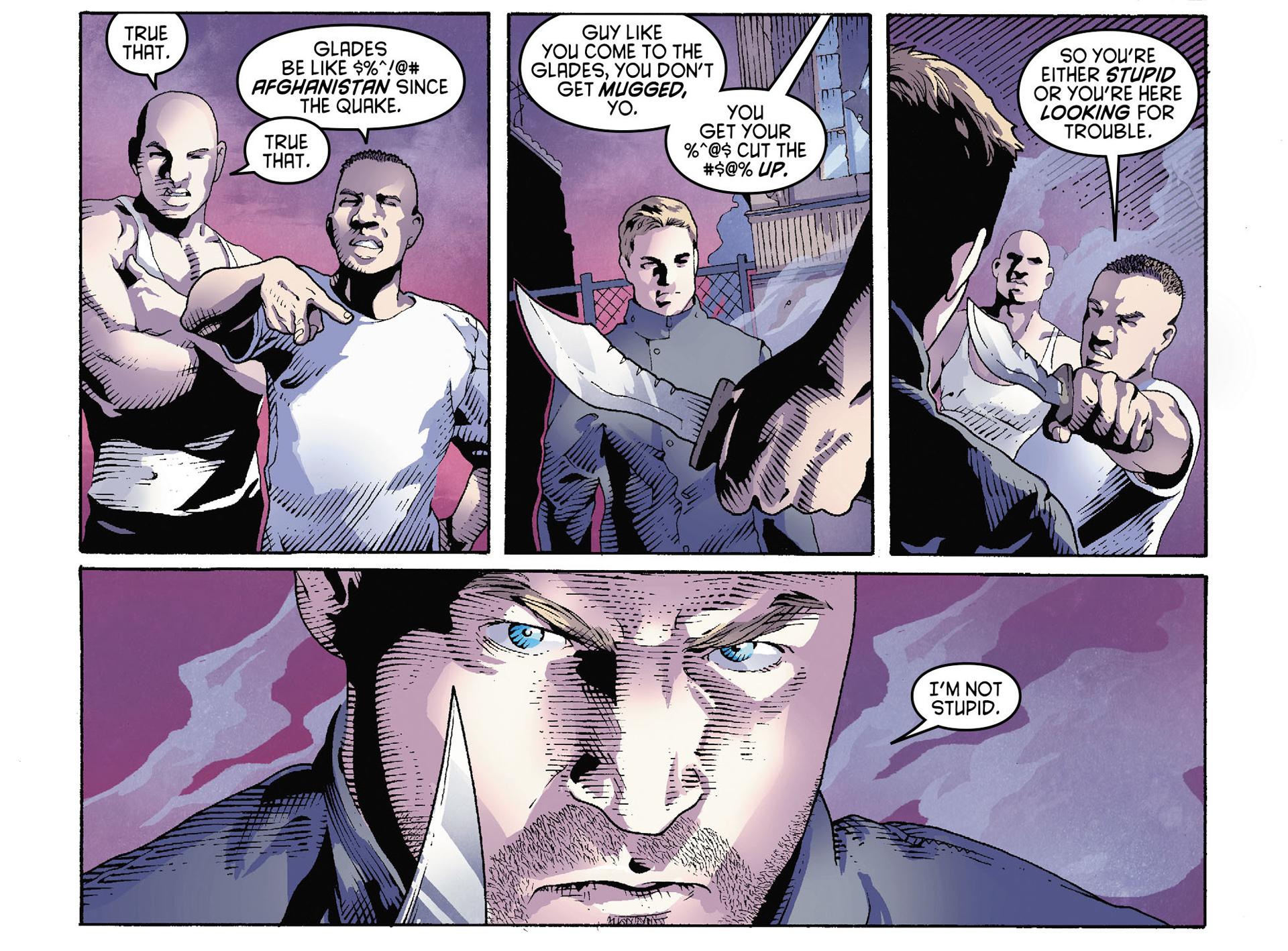 Read online Arrow [II] comic -  Issue #35 - 8