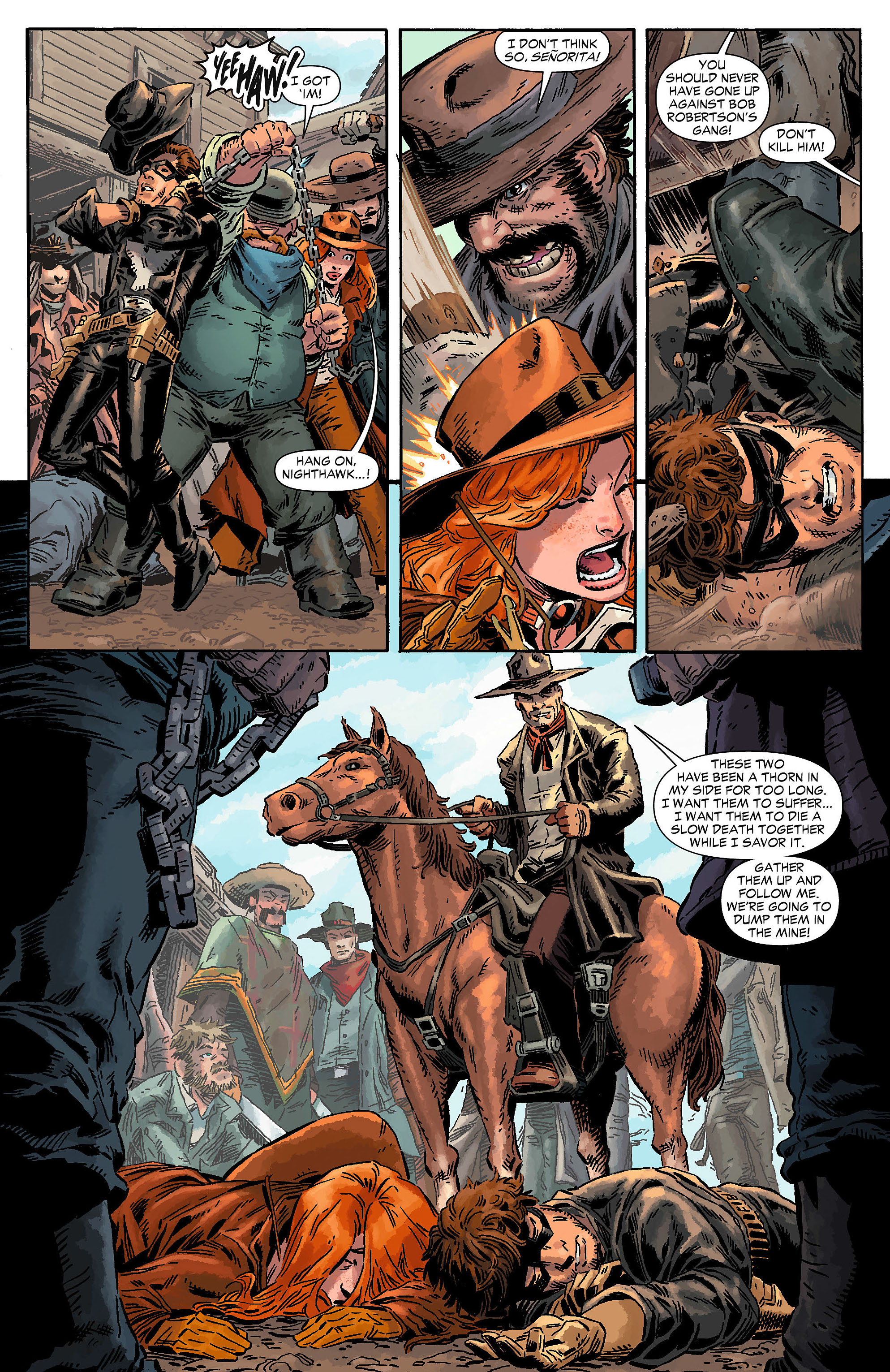 Read online All-Star Western (2011) comic -  Issue #7 - 28