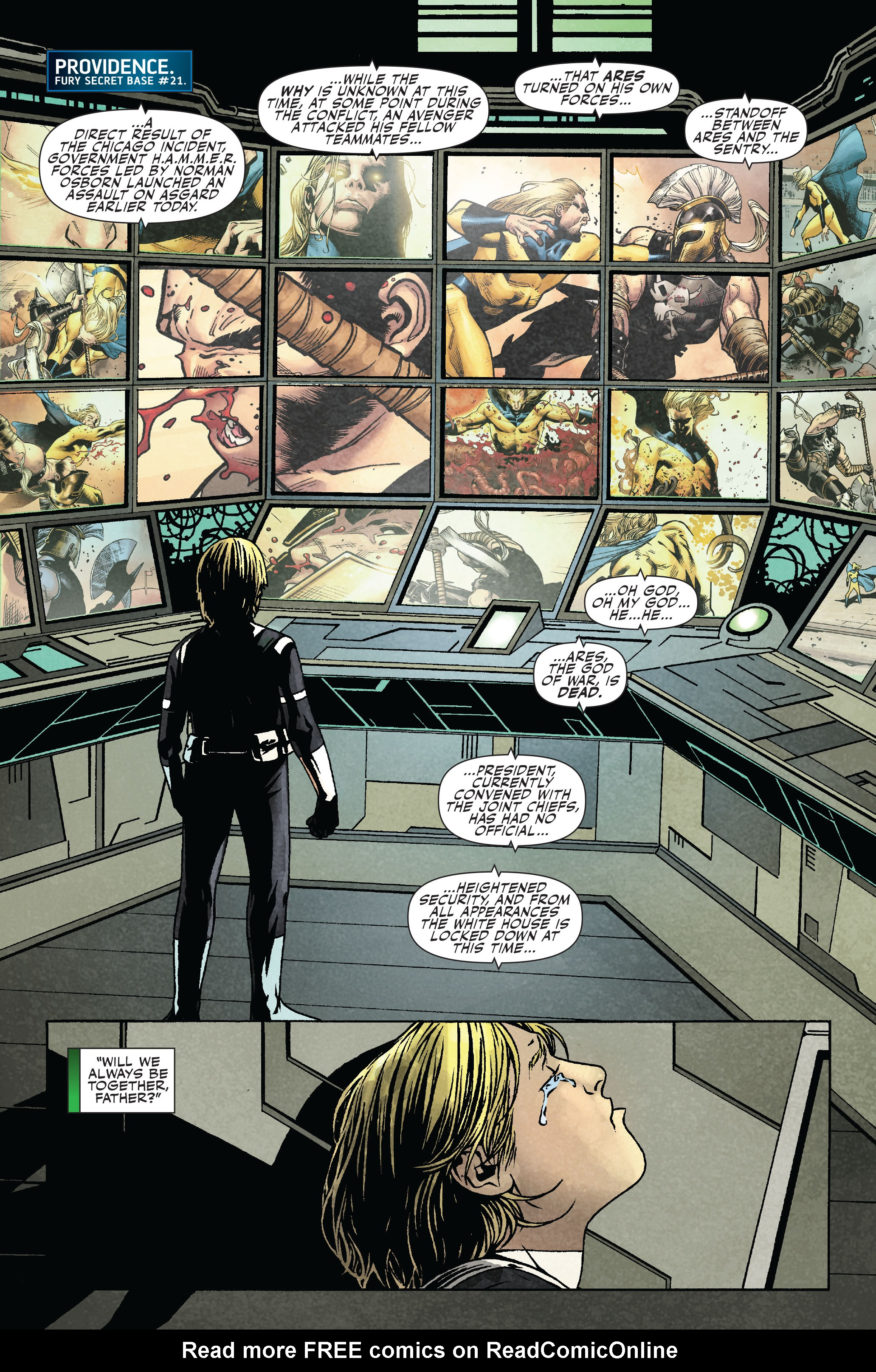 Read online Siege: Secret Warriors comic -  Issue # Full - 3