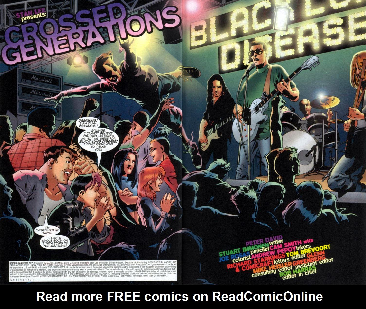 Read online Spider-Man/Gen13 comic -  Issue # Full - 4