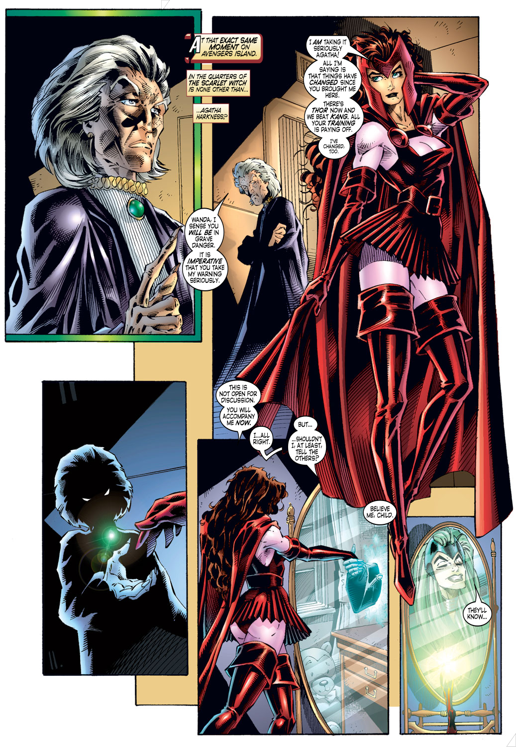 Read online Avengers (1996) comic -  Issue #4 - 13