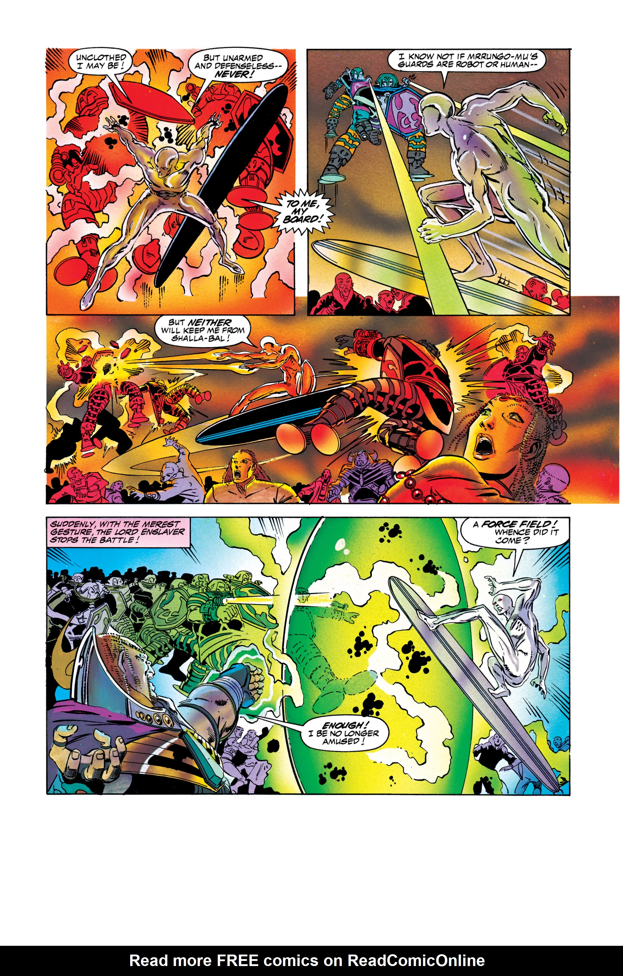 Read online Silver Surfer: Parable comic -  Issue # TPB - 111
