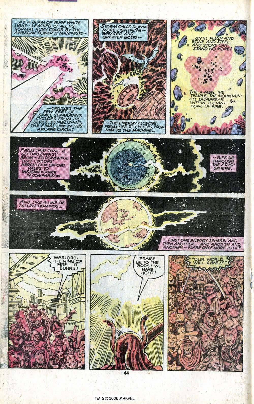 Read online Uncanny X-Men (1963) comic -  Issue # _Annual 3 - 46