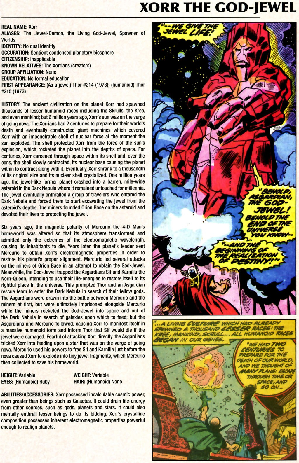 Read online Marvel Legacy: The 1970's Handbook comic -  Issue # Full - 65