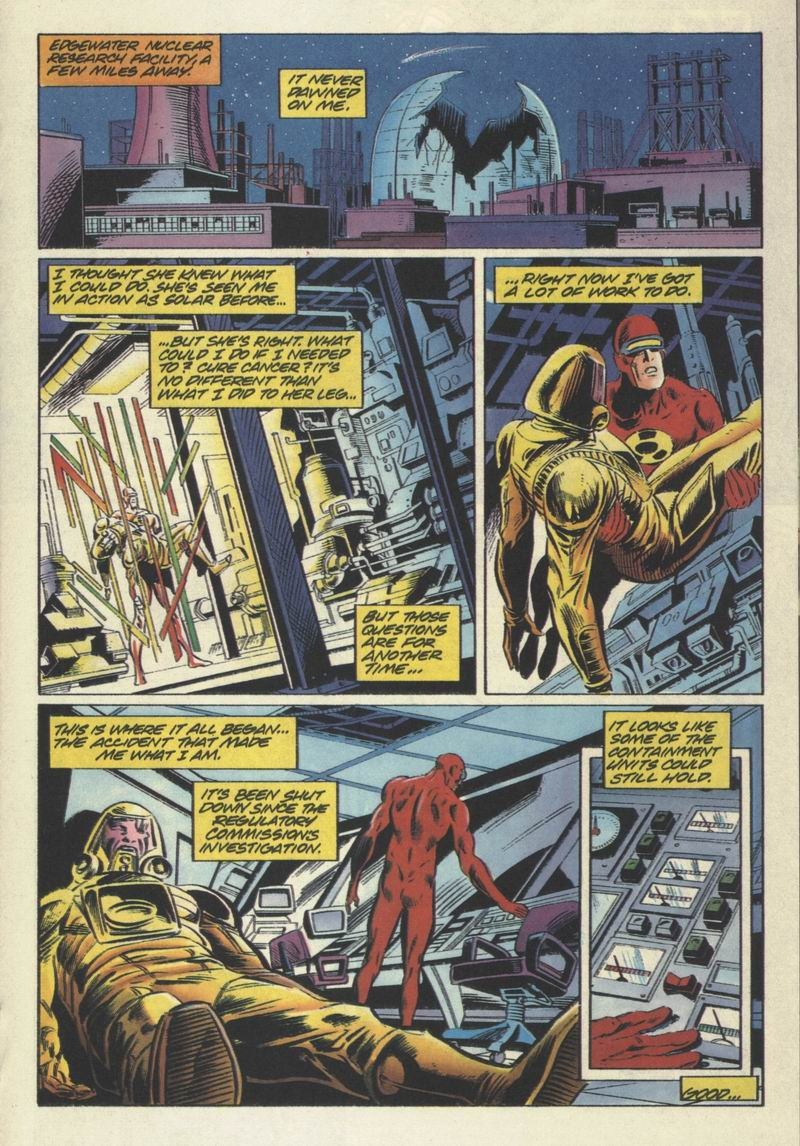 Read online Solar, Man of the Atom comic -  Issue #31 - 15