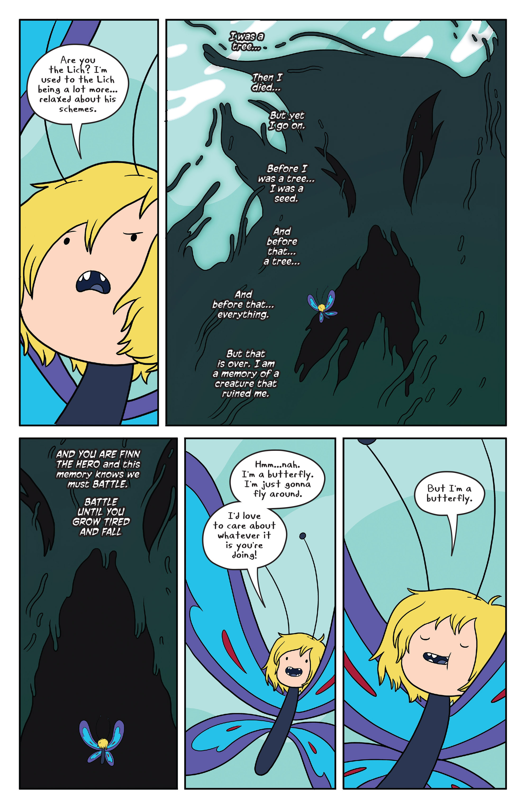Read online Adventure Time comic -  Issue #50 - 26