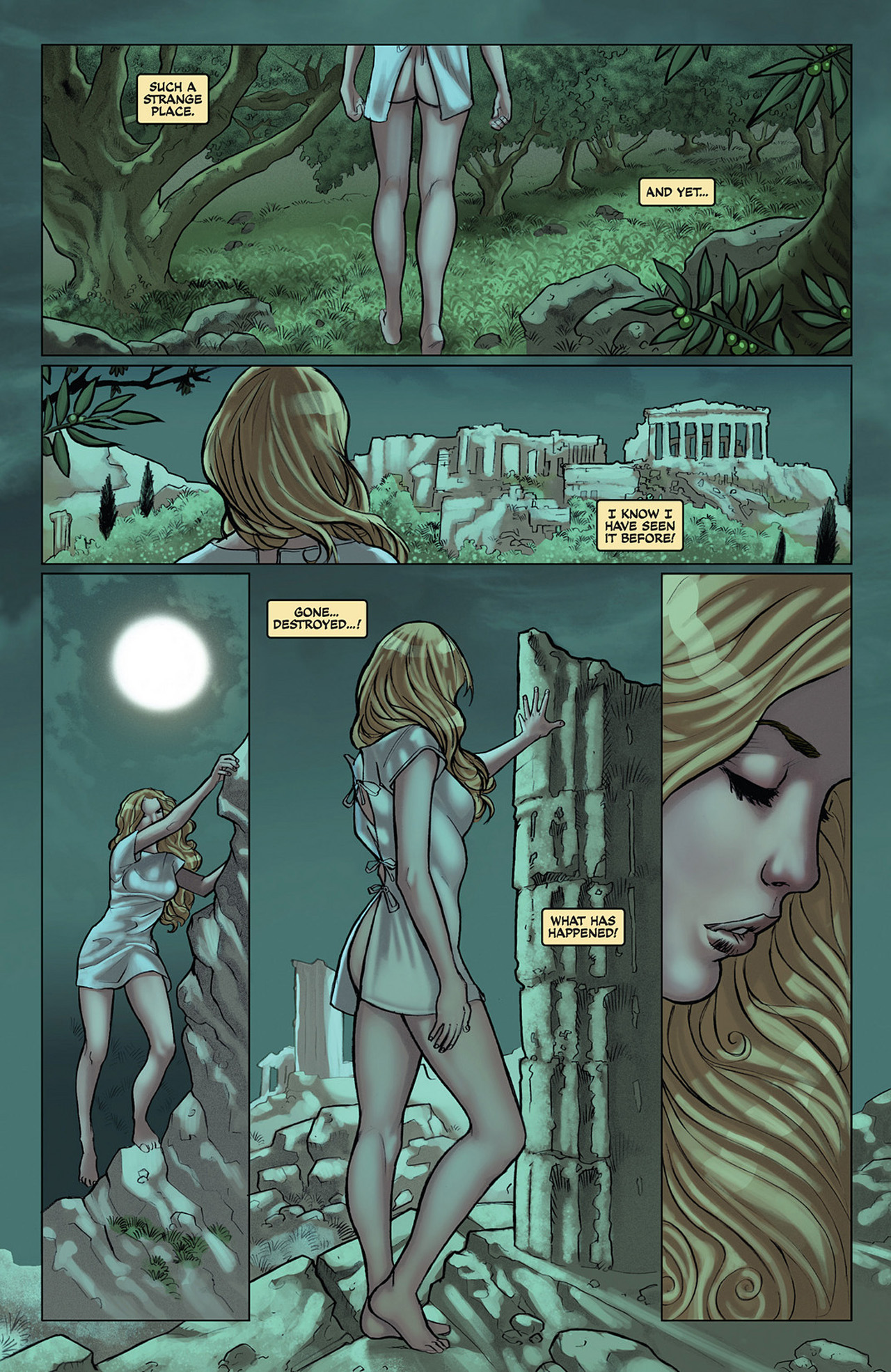Read online Athena comic -  Issue #1 - 10