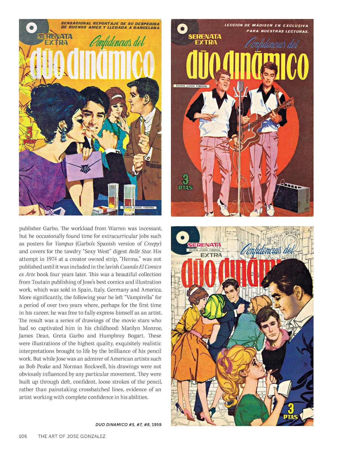 Read online The Art of Jose Gonzalez comic -  Issue # TPB (Part 2) - 8