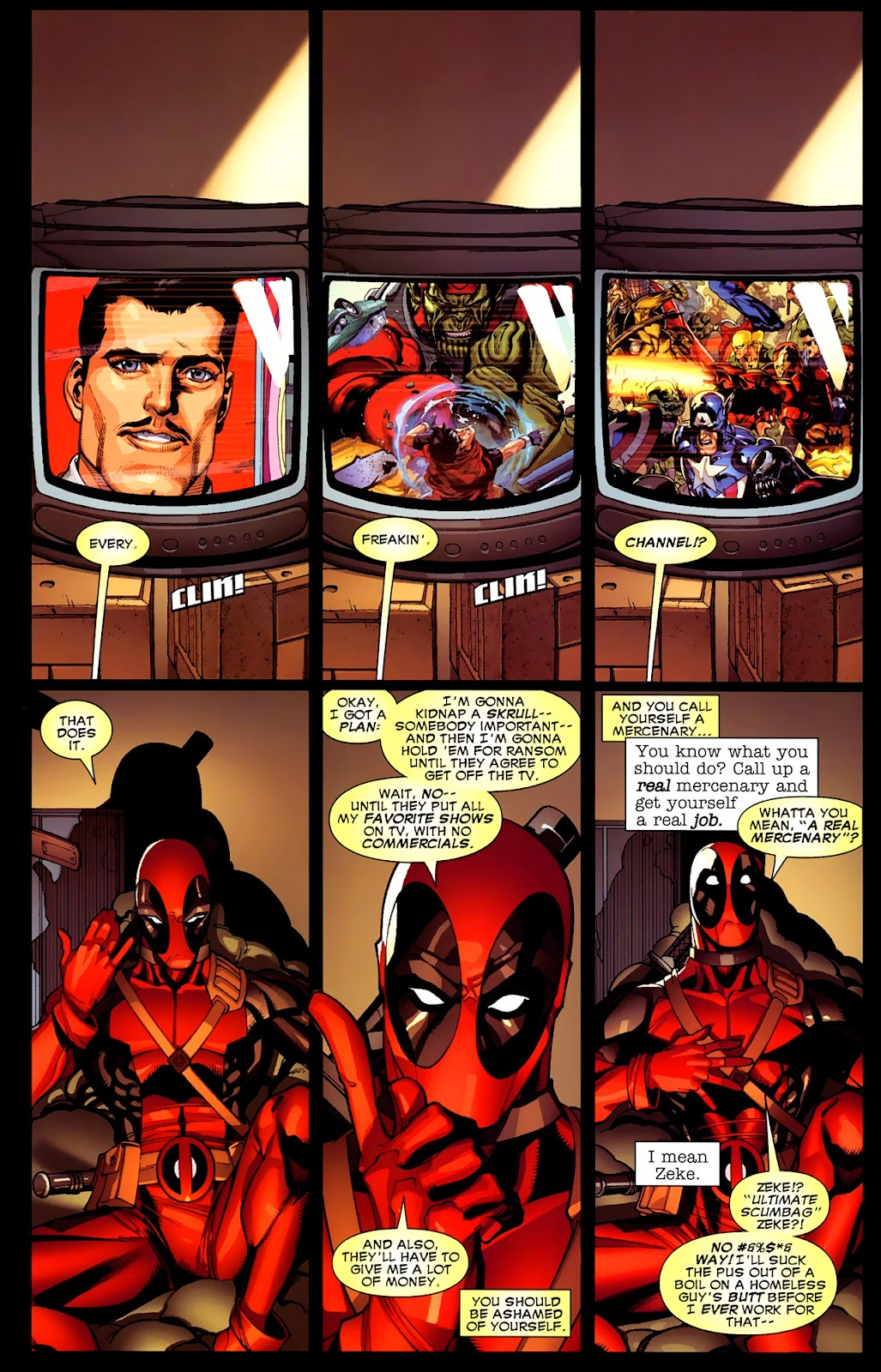 Read online Deadpool (2008) comic -  Issue #4 - 5