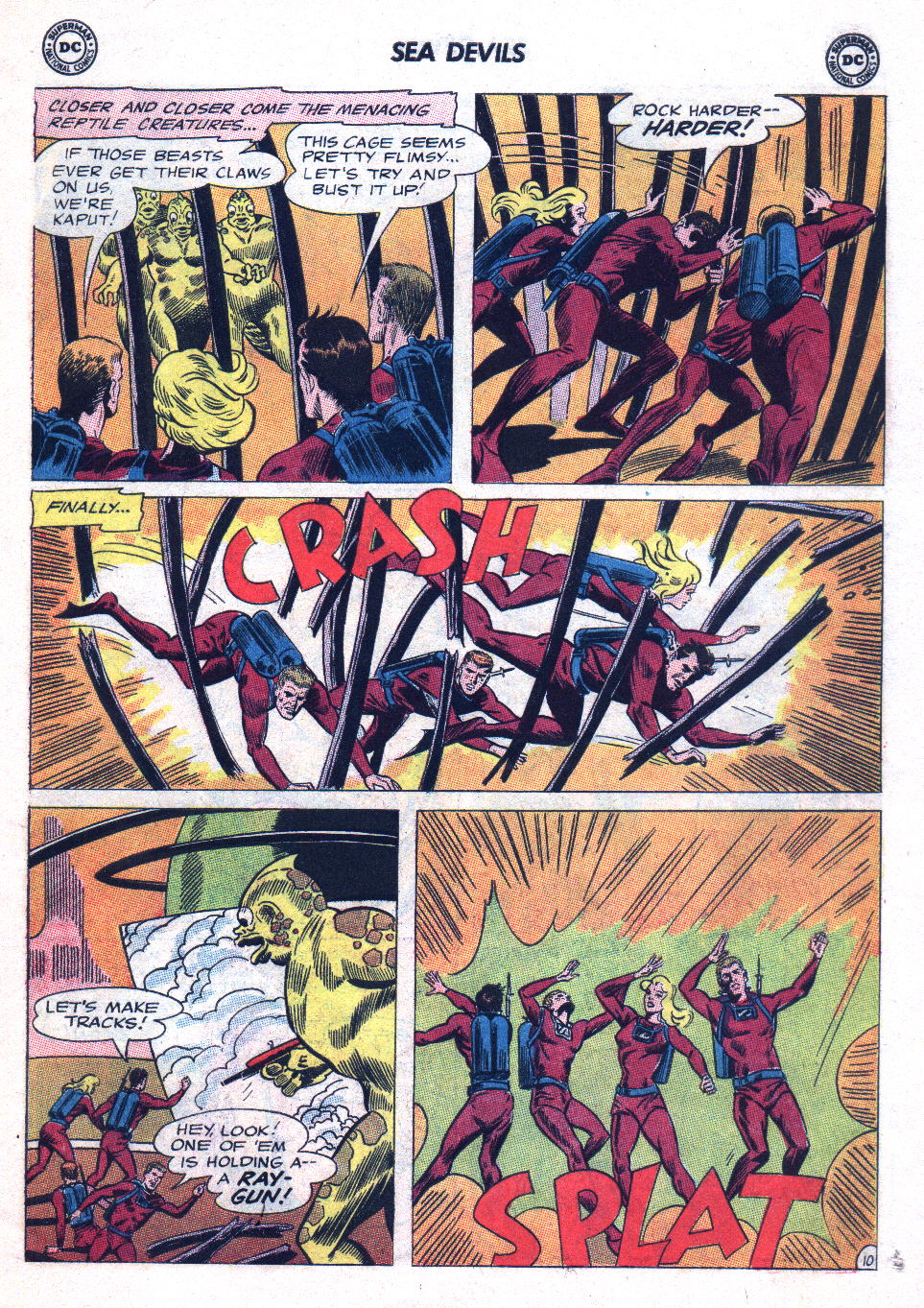 Read online Sea Devils comic -  Issue #20 - 15