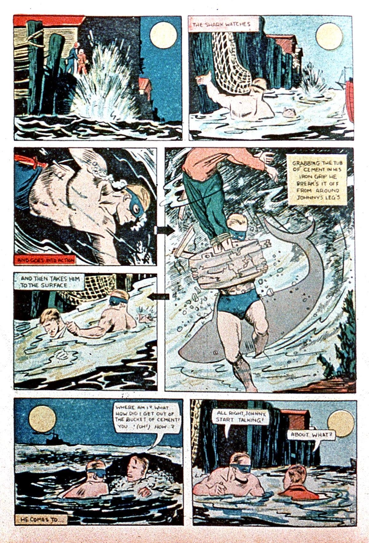 Read online Amazing Man Comics comic -  Issue #8 - 64