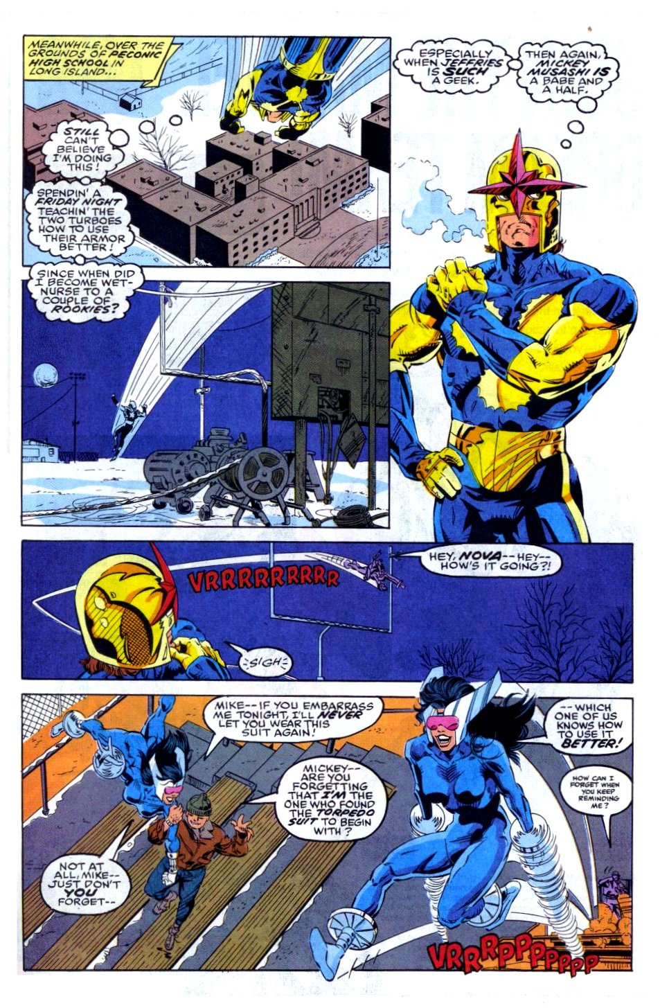 The New Warriors Issue #35 #39 - English 6