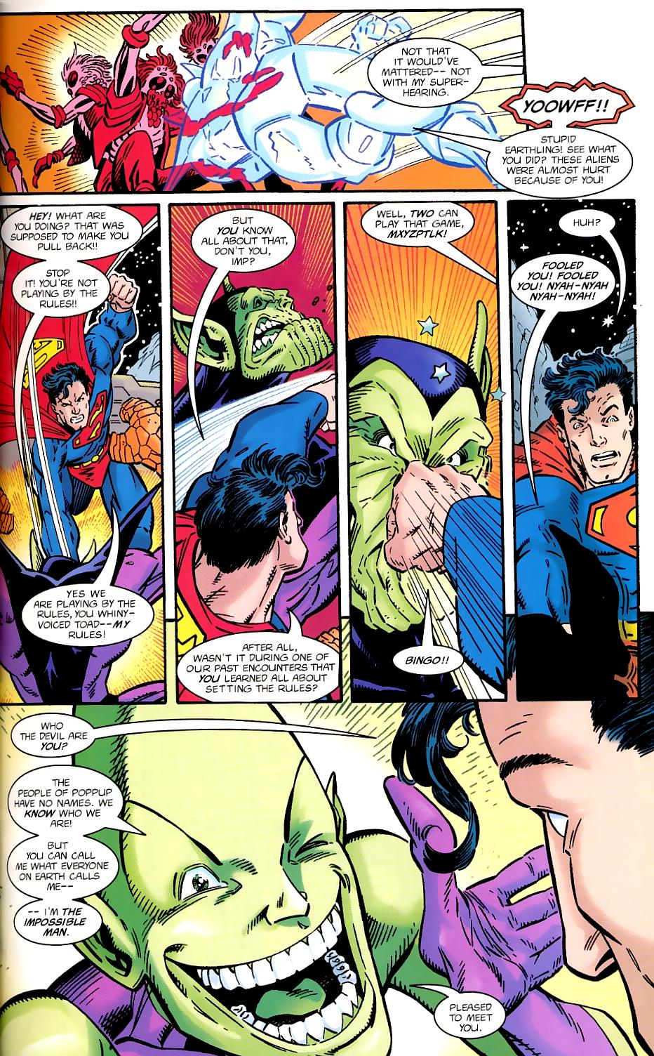 Read online Silver Surfer/Superman comic -  Issue # Full - 29