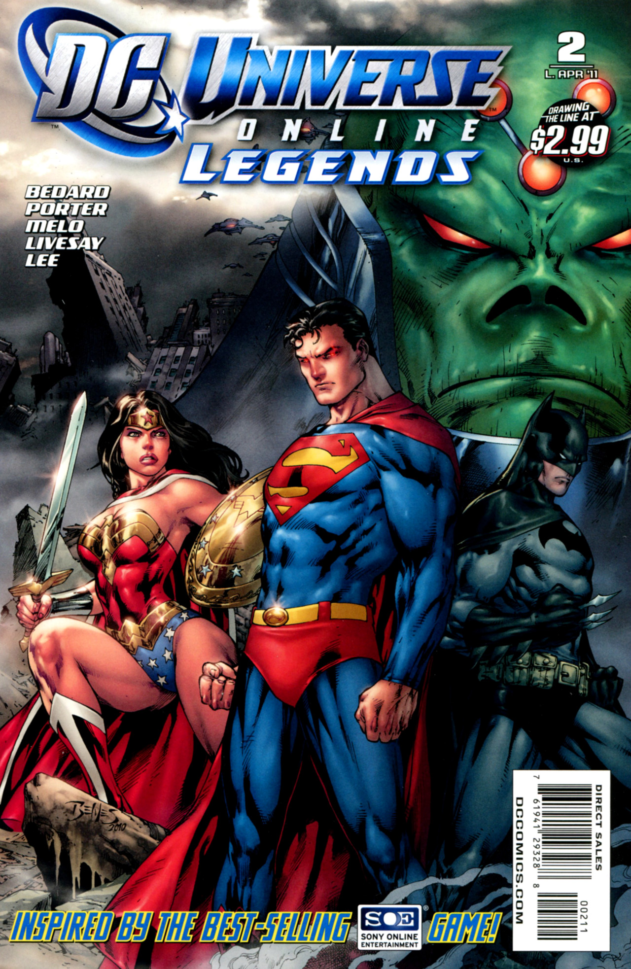 DC Universe Online: Legends 2 Page 1