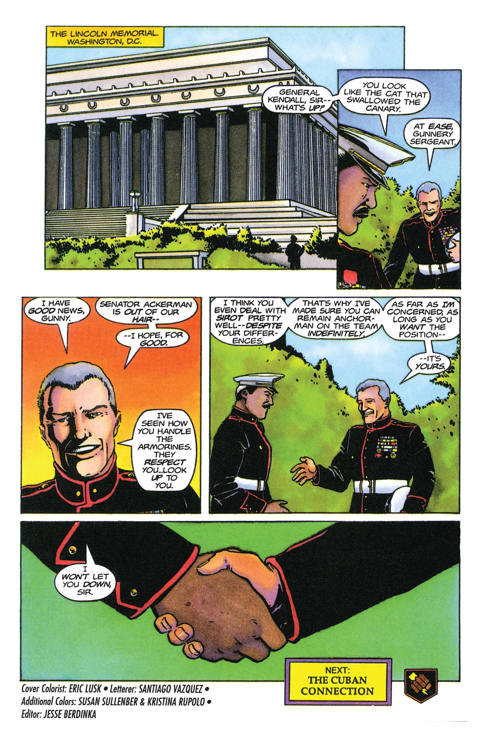 Read online Armorines comic -  Issue #9 - 22