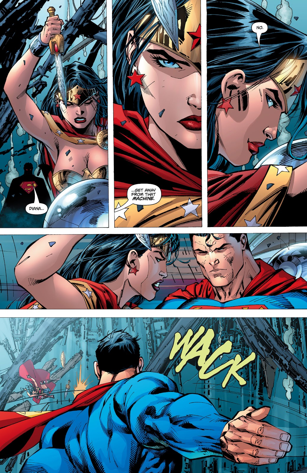 Read online Superman: For Tomorrow comic -  Issue # TPB (Part 2) - 95