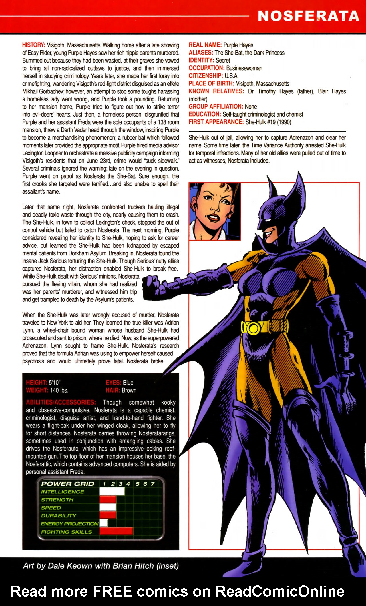 Read online All-New Official Handbook of the Marvel Universe A to Z comic -  Issue #8 - 19