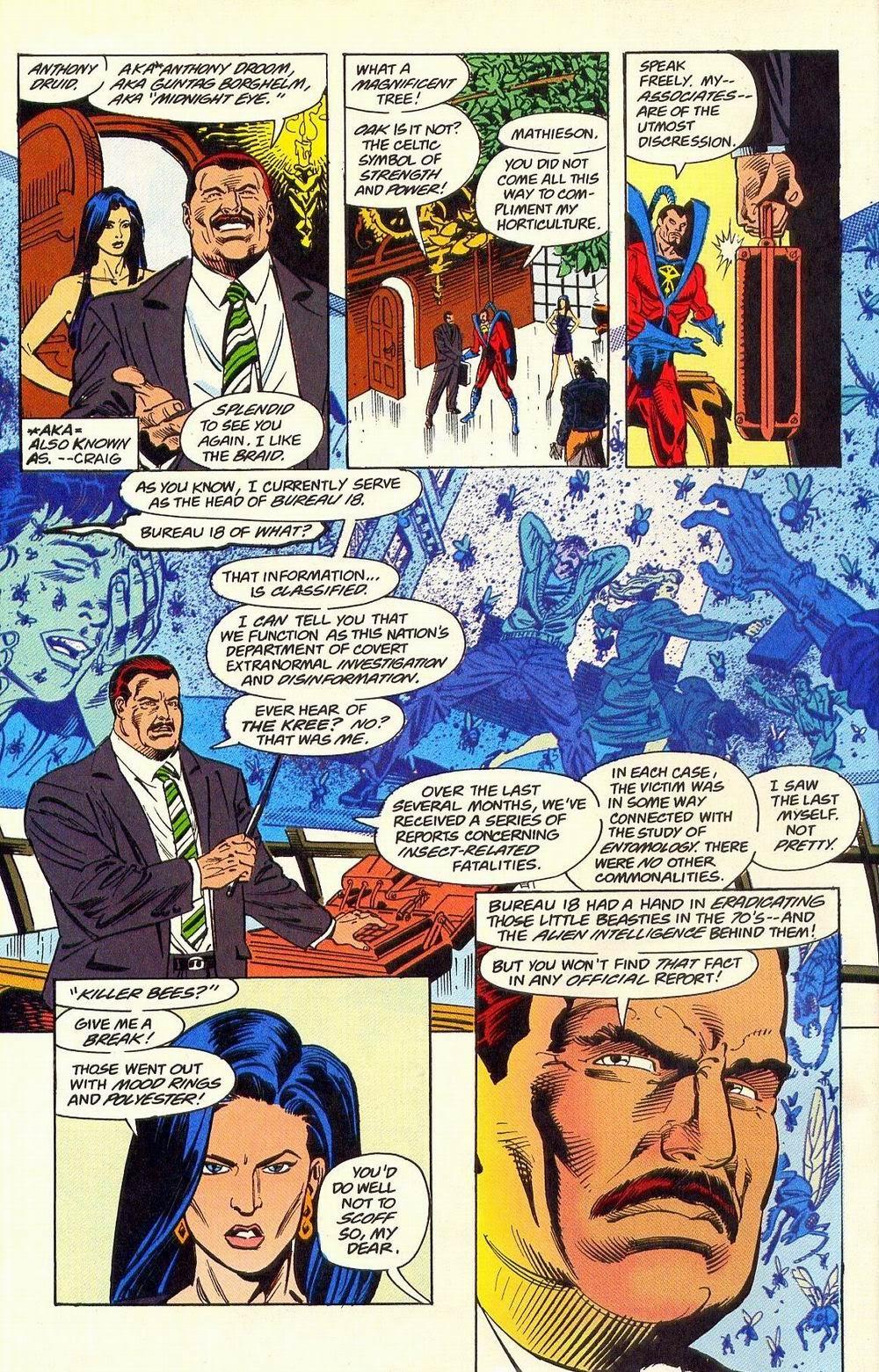 Secret Defenders Issue 18 | Viewcomic reading comics ...