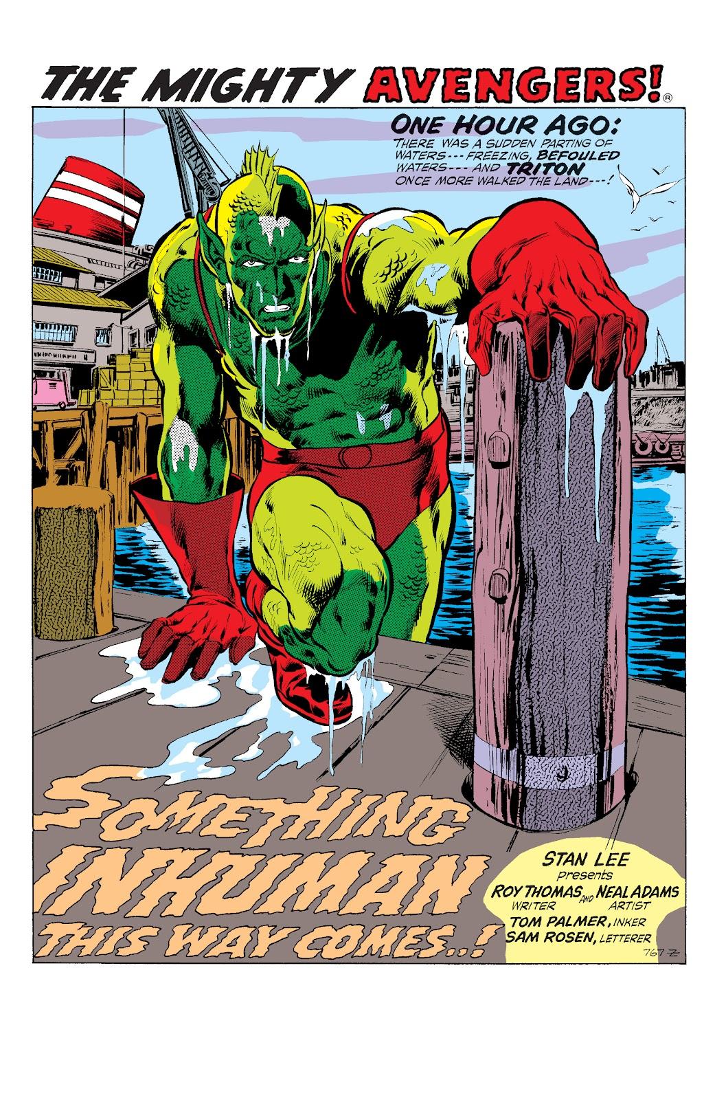 Read online Marvel Masterworks: The Inhumans comic -  Issue # TPB 1 (Part 2) - 96