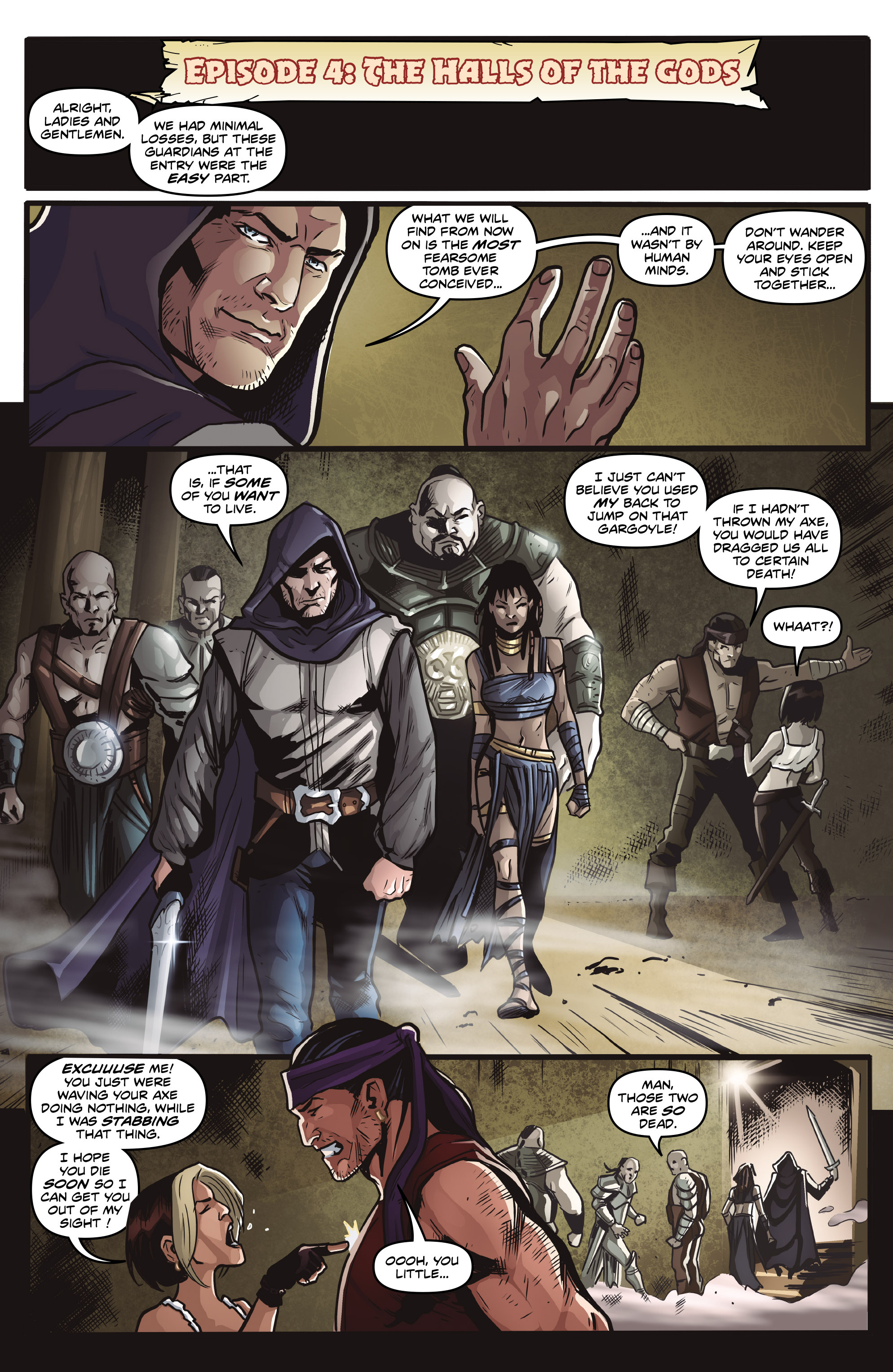 Read online Rogues!: The Burning Heart comic -  Issue #4 - 18