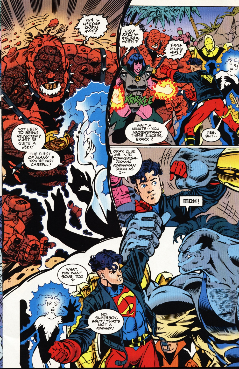 Read online Superboy & The Ravers comic -  Issue #1 - 8
