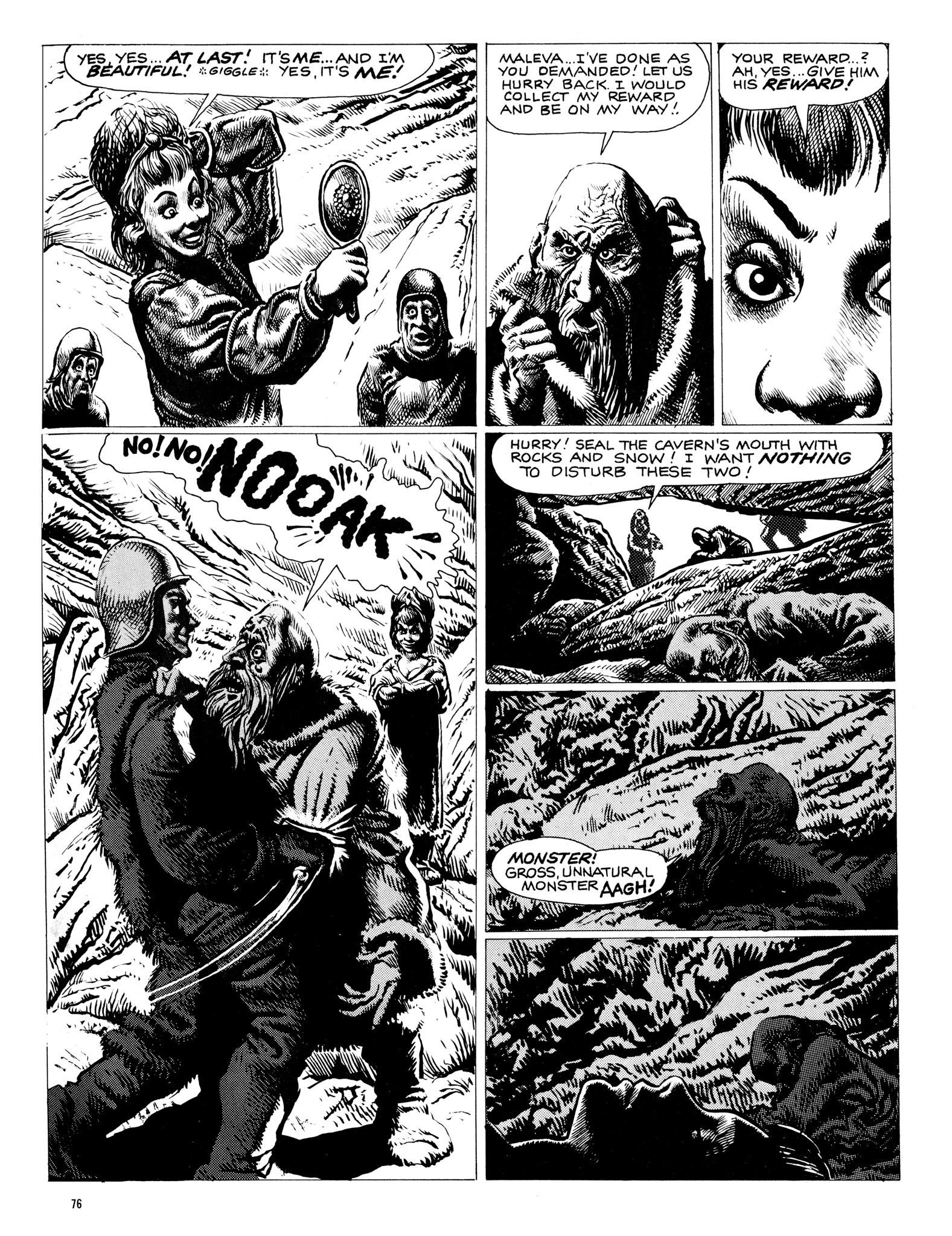 Read online Eerie Archives comic -  Issue # TPB 18 - 77