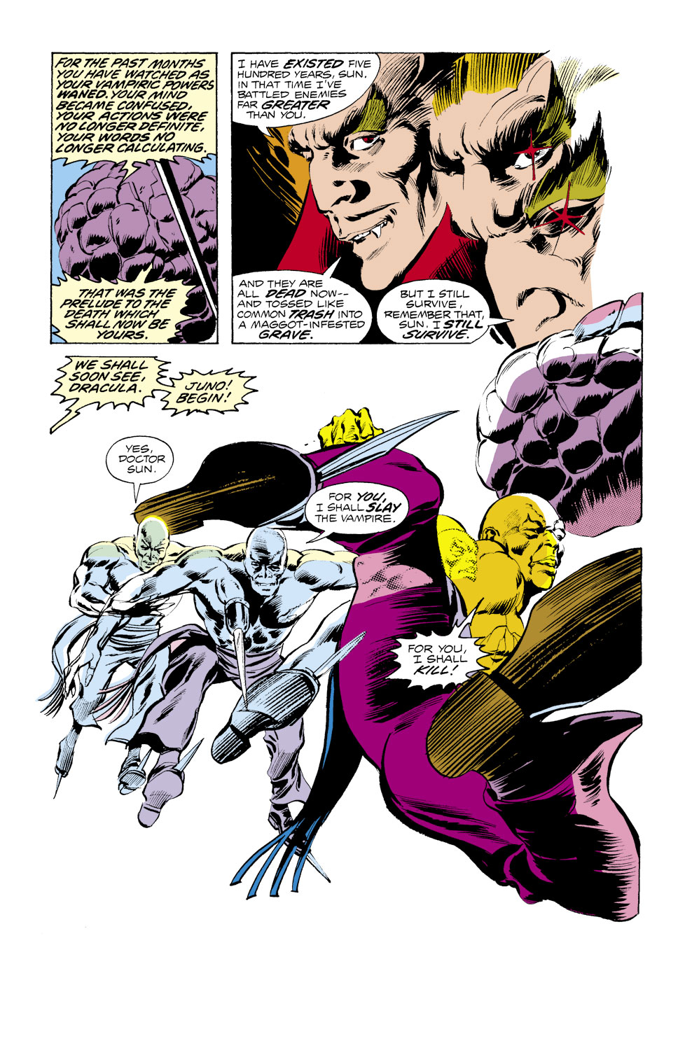 Tomb of Dracula (1972) issue 39 - Page 6