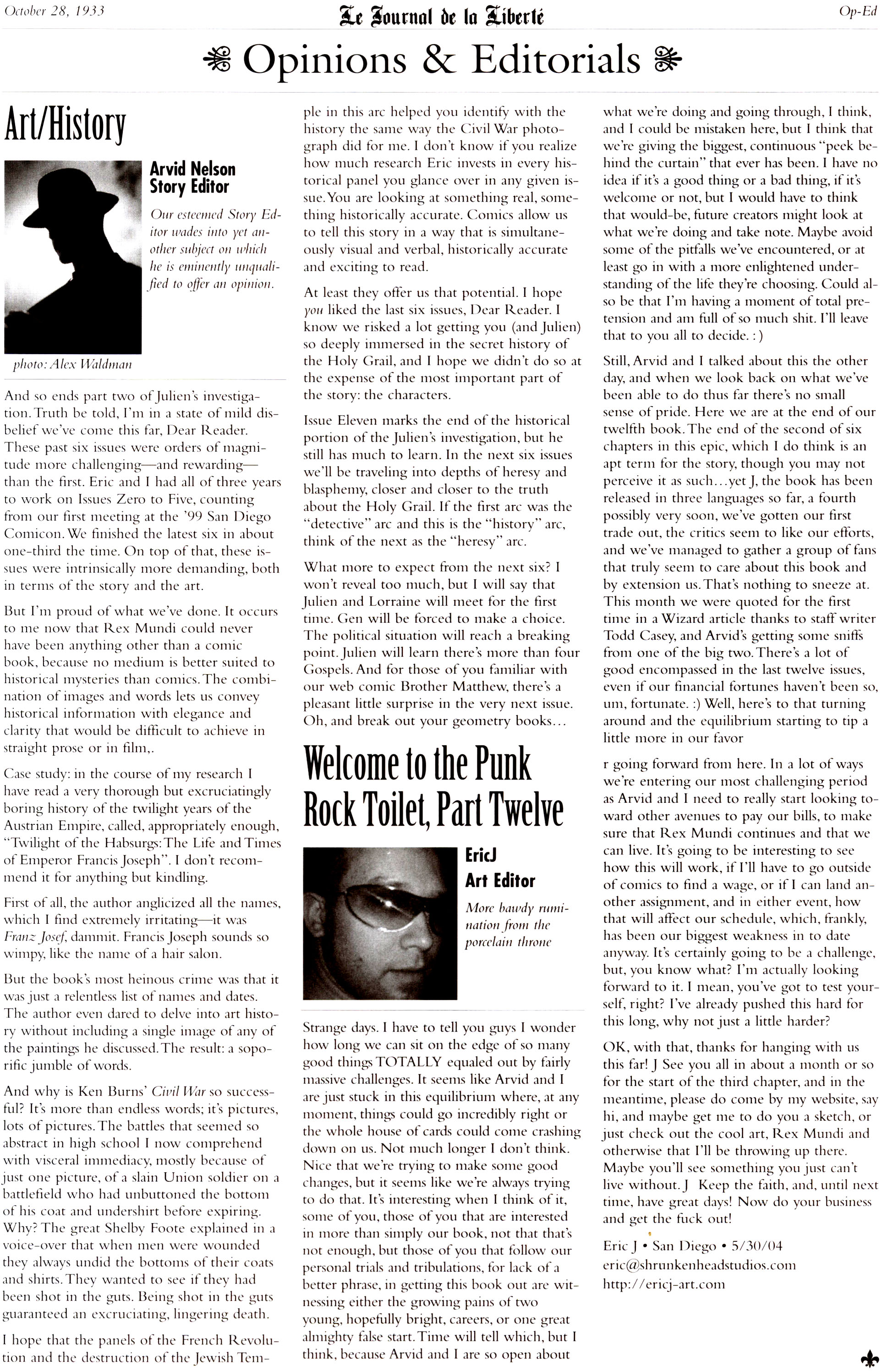 Read online Rex Mundi comic -  Issue #11 - 29