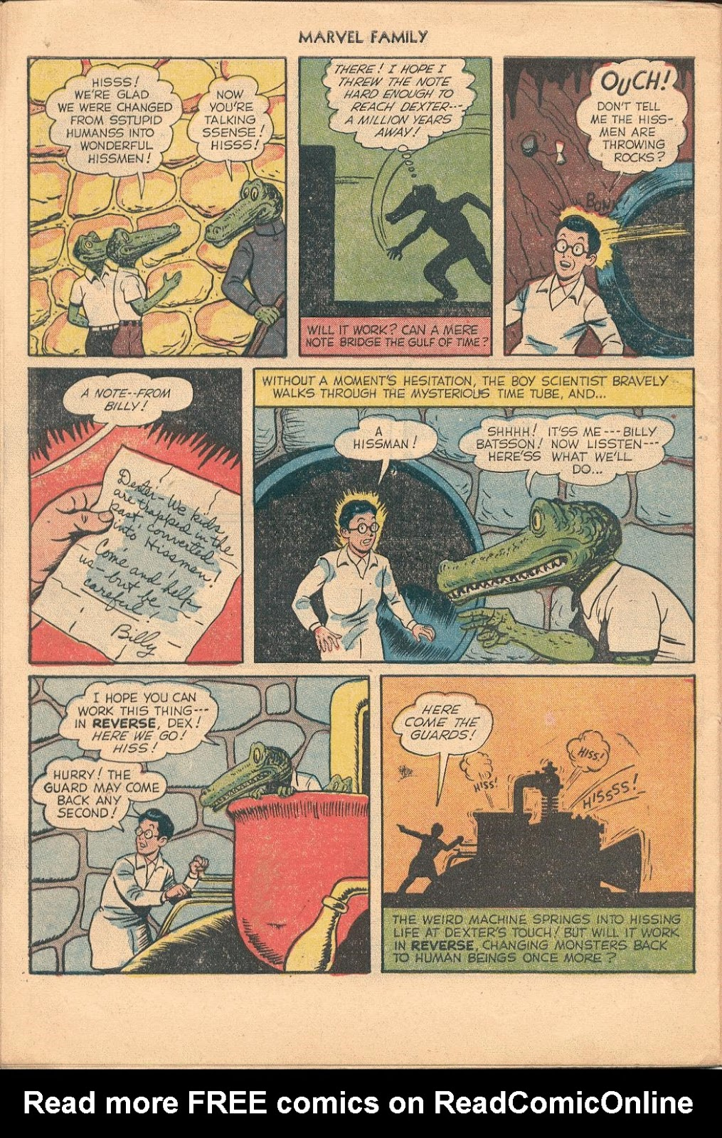 The Marvel Family issue 74 - Page 30